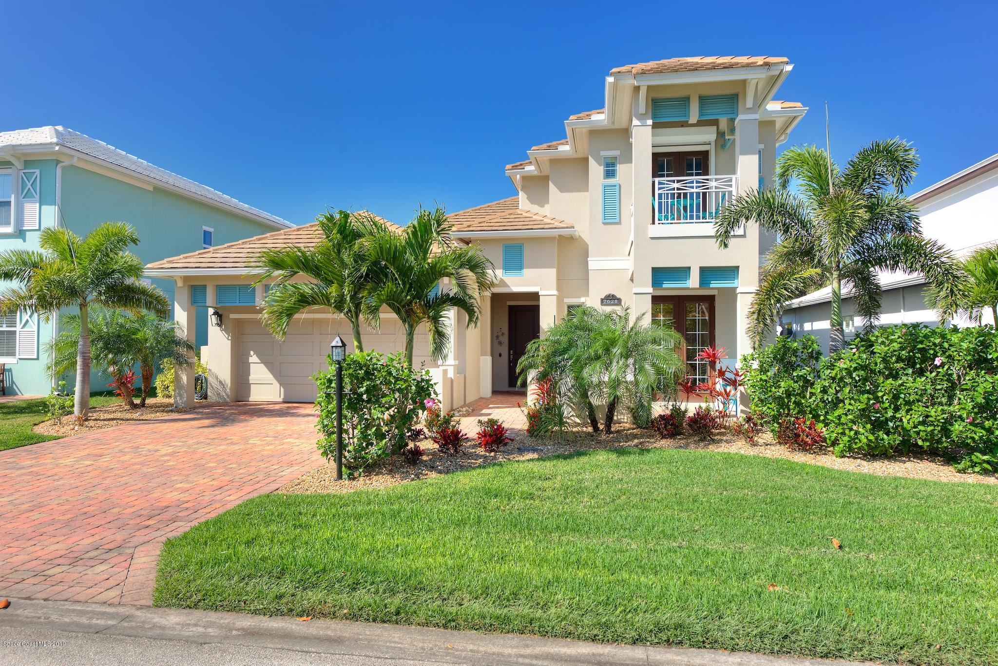 Single Family Home for Sale at 7628 Kiawah 7628 Kiawah Melbourne Beach, Florida 32951 United States