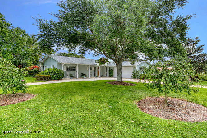 Single Family Home for Sale at 201 S Riverside 201 S Riverside Indialantic, Florida 32903 United States