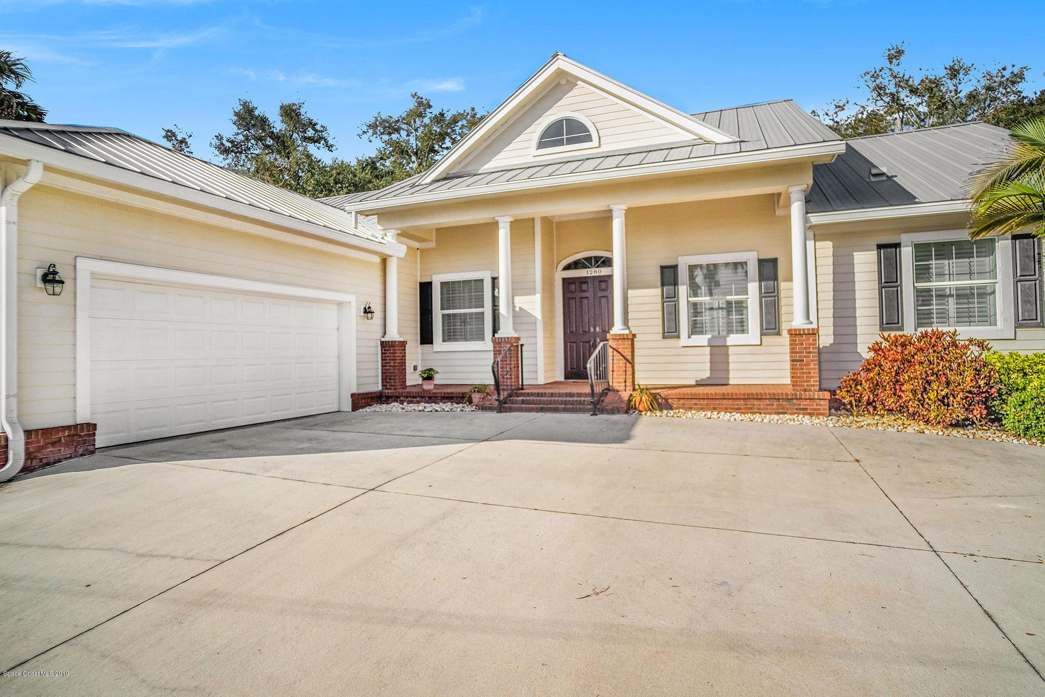 Single Family Home for Sale at 1280 Houston 1280 Houston Melbourne, Florida 32935 United States