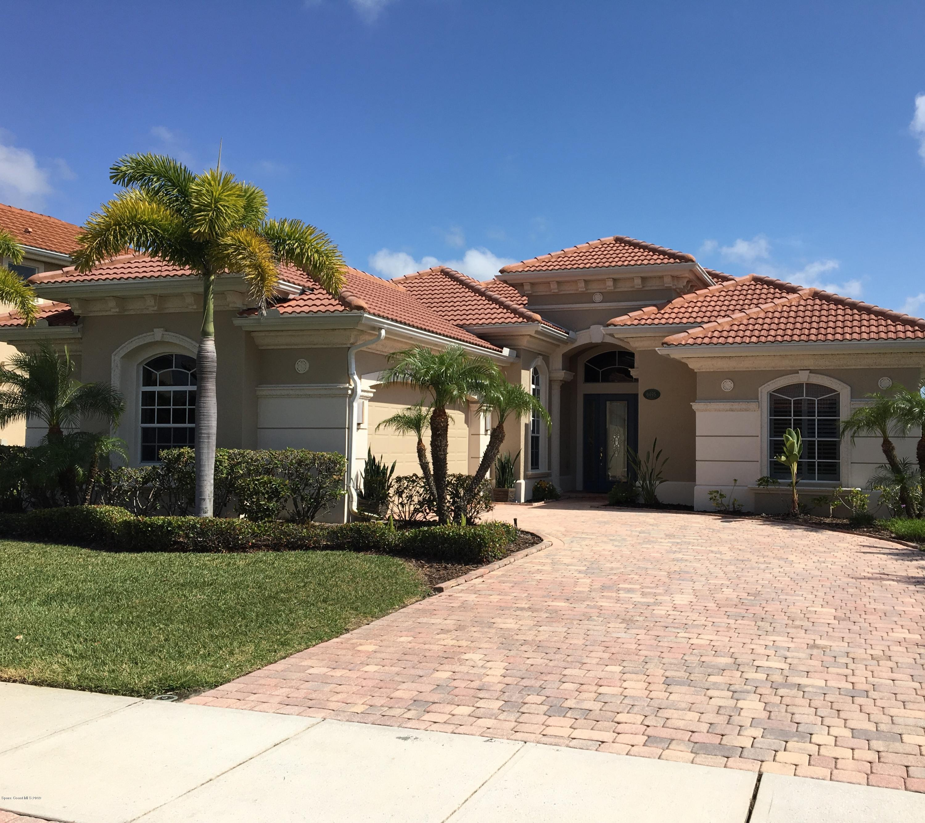Single Family Home for Sale at 6495 Arroyo 6495 Arroyo Melbourne, Florida 32940 United States