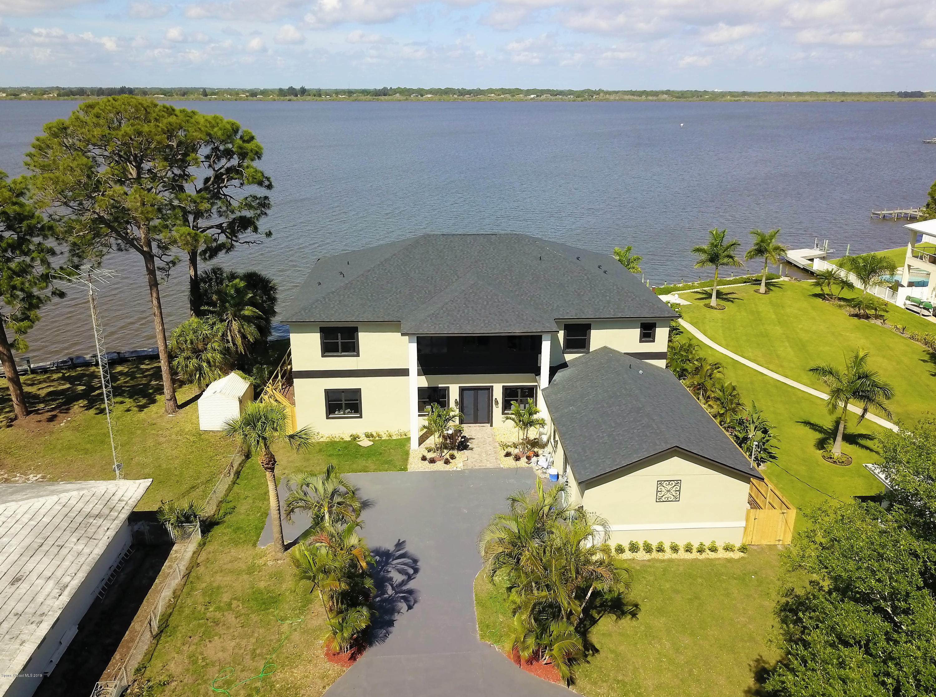 Single Family Homes for Sale at 2483 Newfound Harbor Merritt Island, Florida 32952 United States