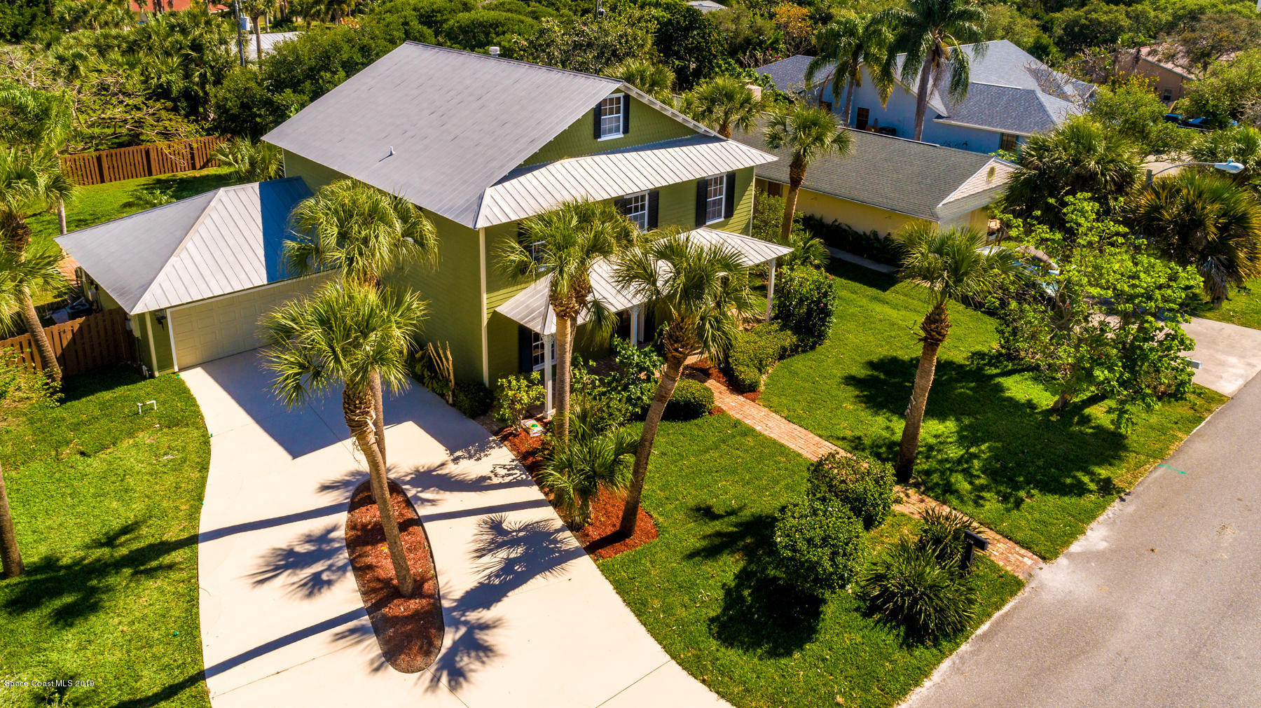 Single Family Home for Sale at 320 2nd 320 2nd Melbourne Beach, Florida 32951 United States