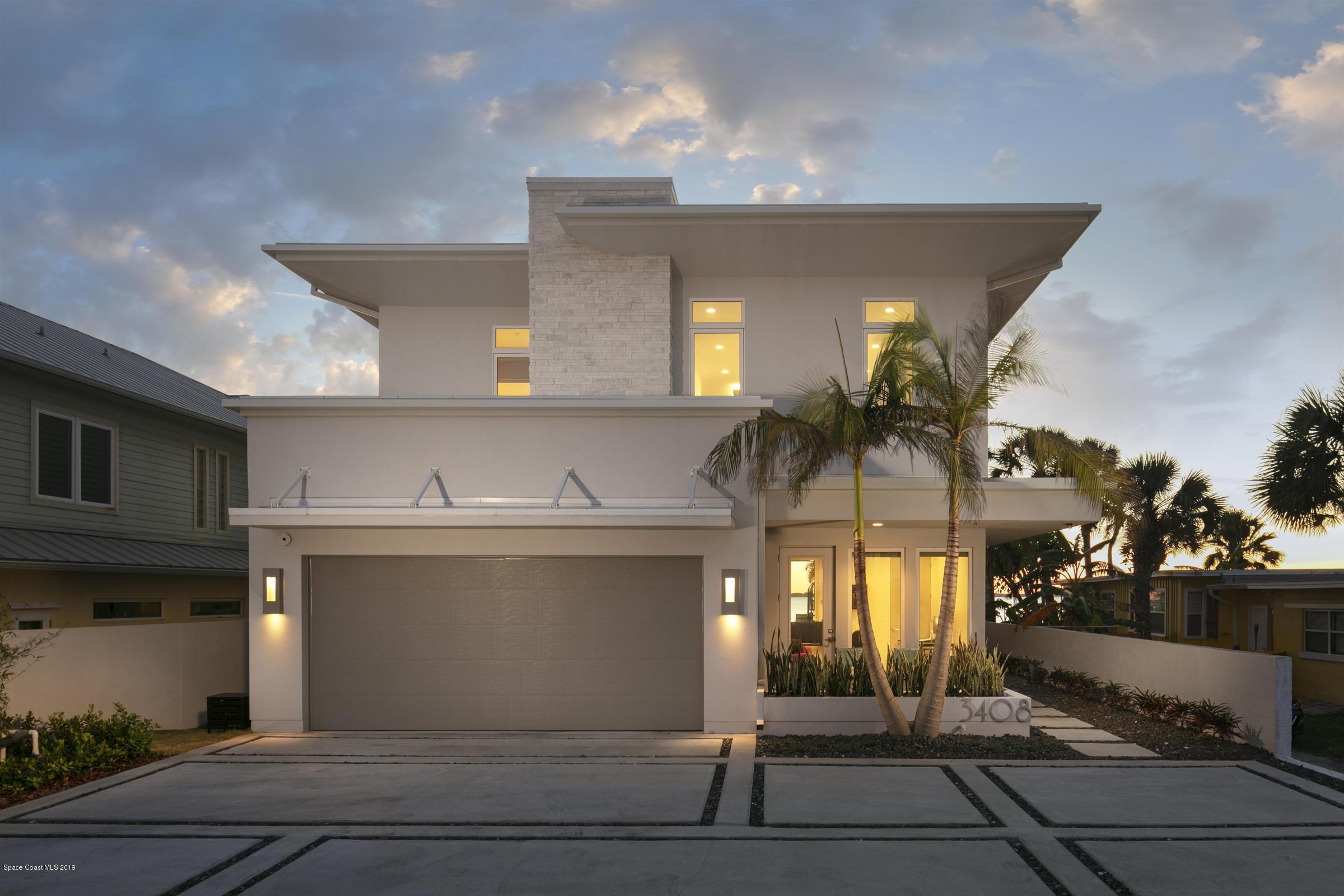 Μονοκατοικία για την Πώληση στο 3408 S Atlantic Cocoa Beach, Φλοριντα 32931 Ηνωμένες Πολιτείες