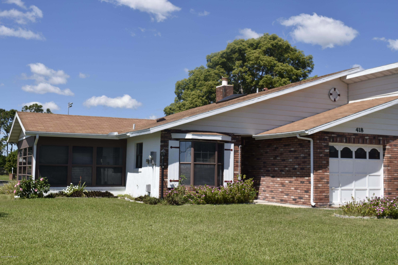 Vivienda unifamiliar por un Venta en 418 Shangri La Edgewater, Florida 32132 Estados Unidos