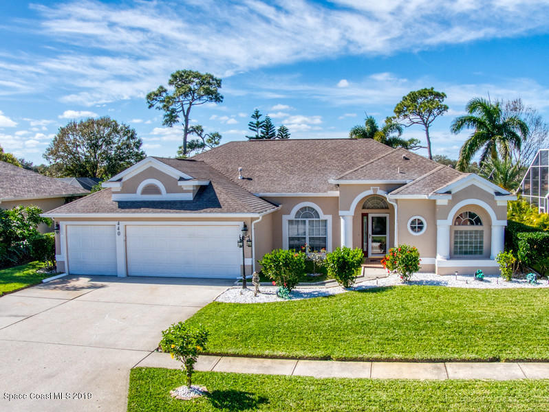 single family homes for Sale at 440 Birchington Melbourne, Florida 32940 United States