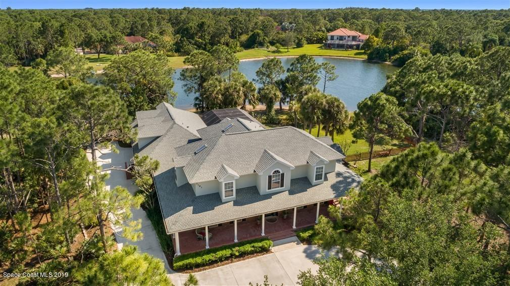 Single Family Homes for Sale at 3181 Tuscawillow Melbourne, Florida 32934 United States