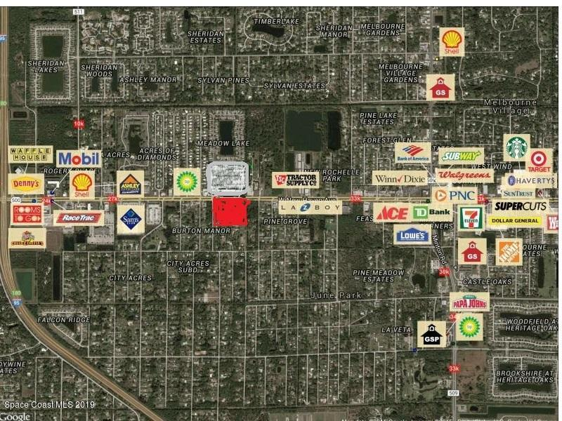 Land for Sale at 3865 W New Haven Melbourne, Florida 32904 United States