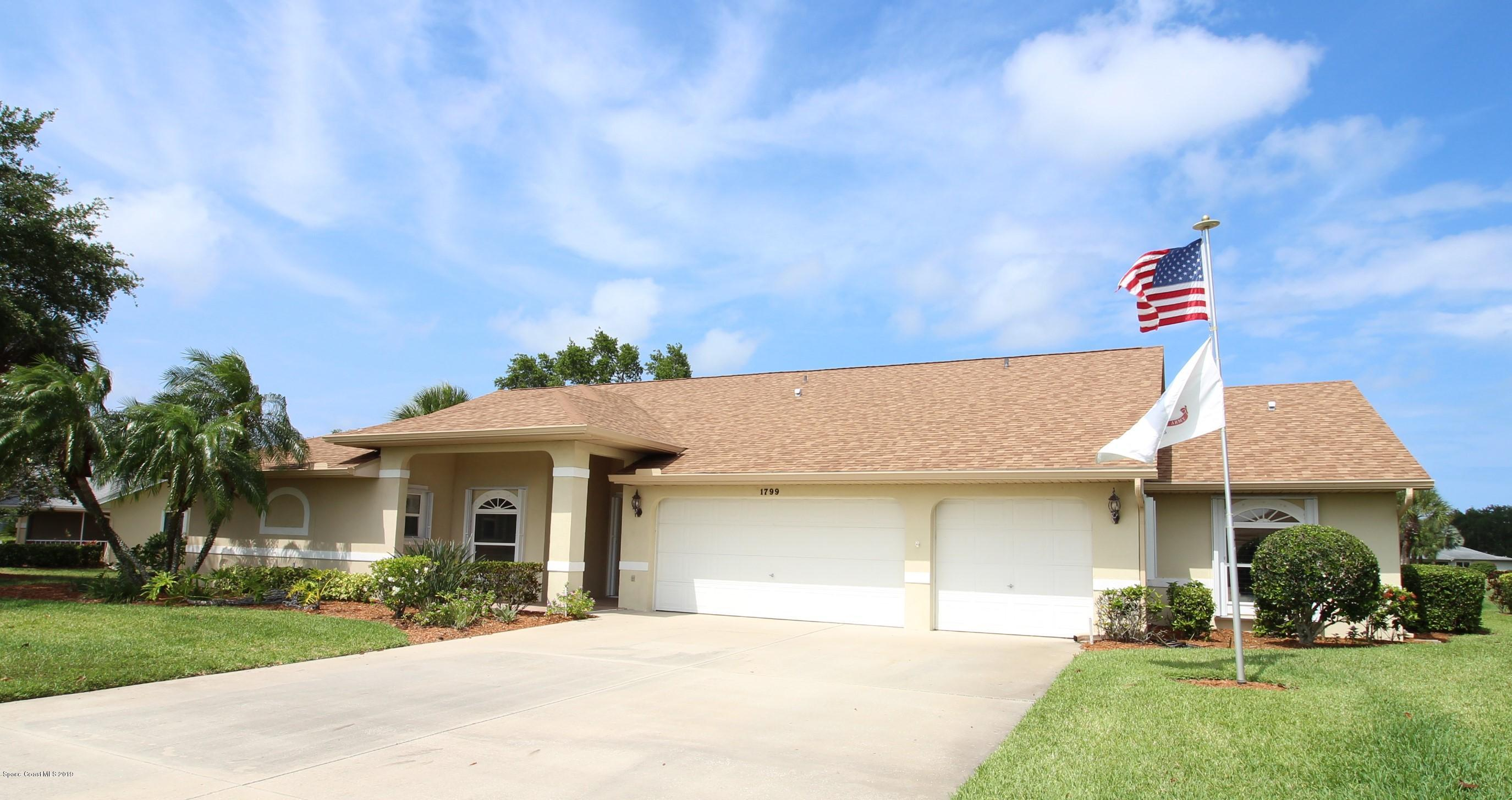 single family homes for Sale at 1799 Freedom Melbourne, Florida 32940 United States