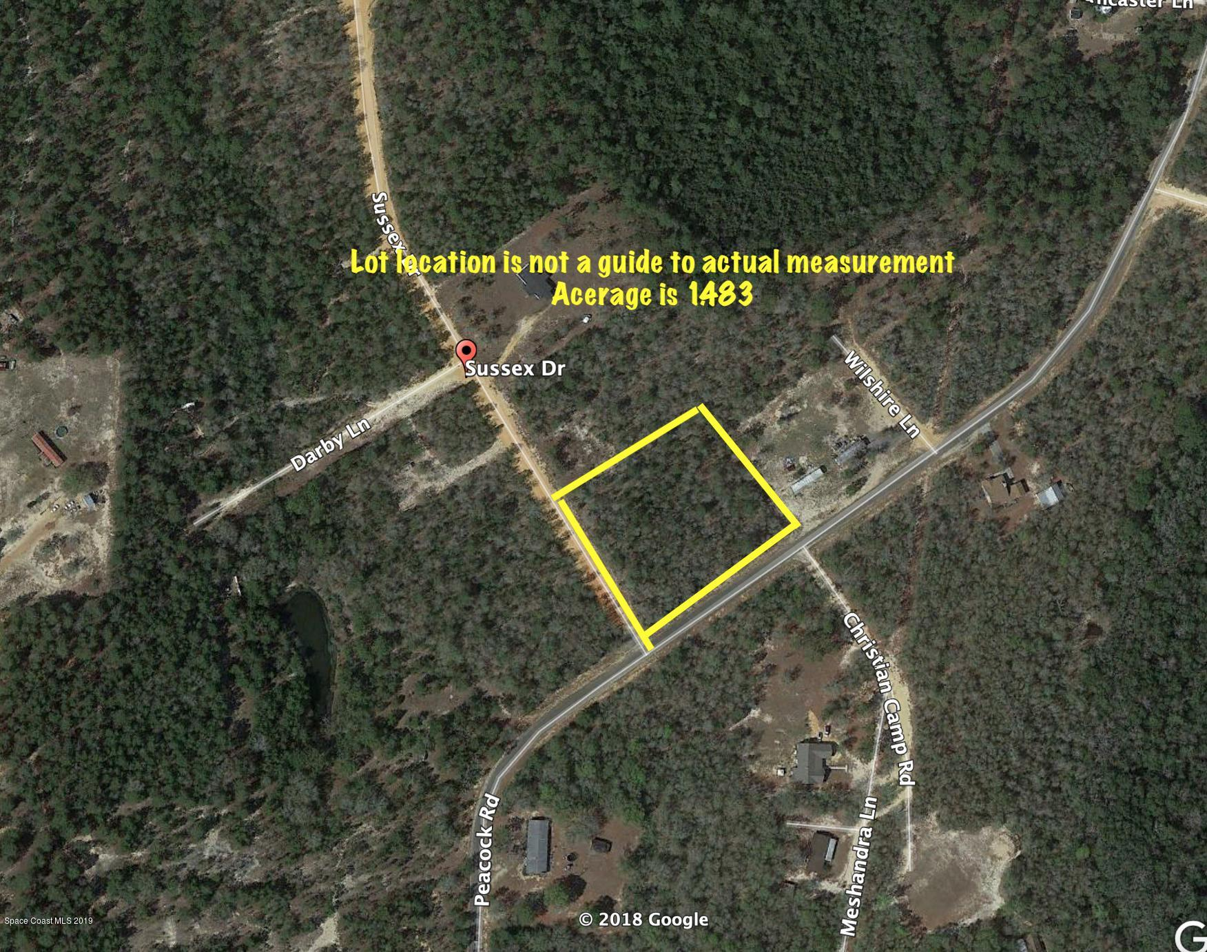 Land for Sale at Sussex Defuniak Springs, Florida 32433 United States