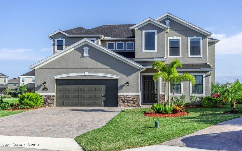 Single Family Home for Sale at 7443 Drevo Melbourne, Florida 32940 United States