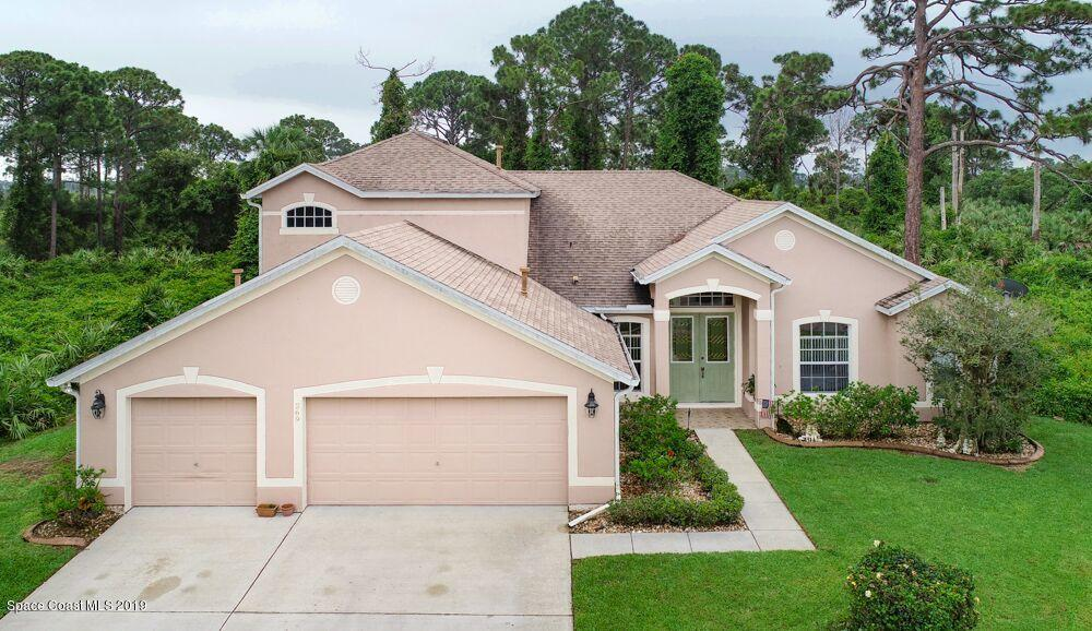Single Family Homes for Sale at 269 Tunbridge Rockledge, Florida 32955 United States
