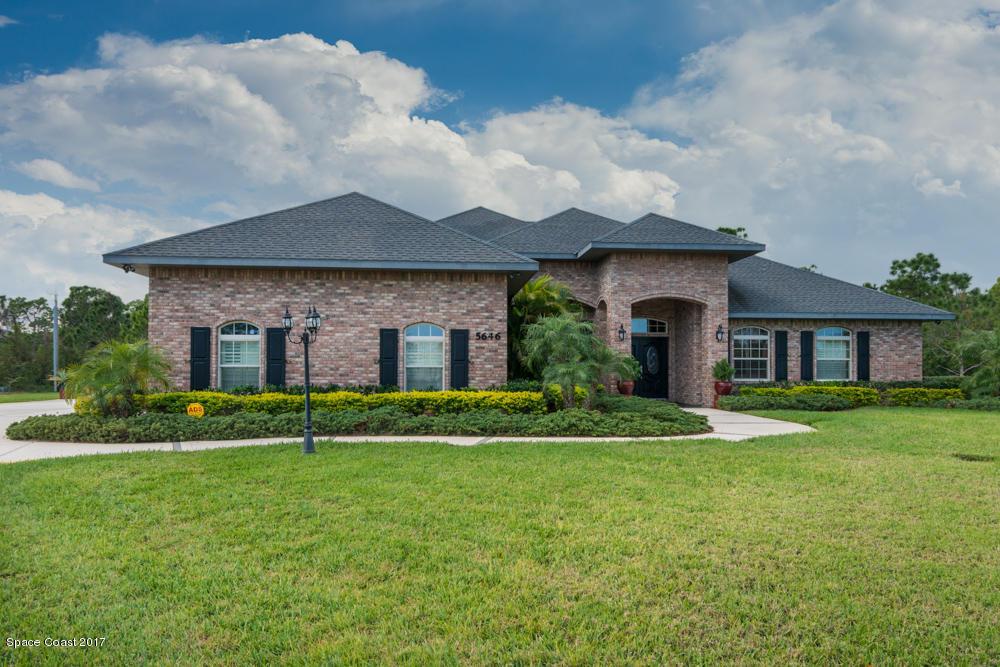 Einfamilienhaus für Verkauf beim 5646 Wood Stork Grant Valkaria, Florida 32949 Vereinigte Staaten