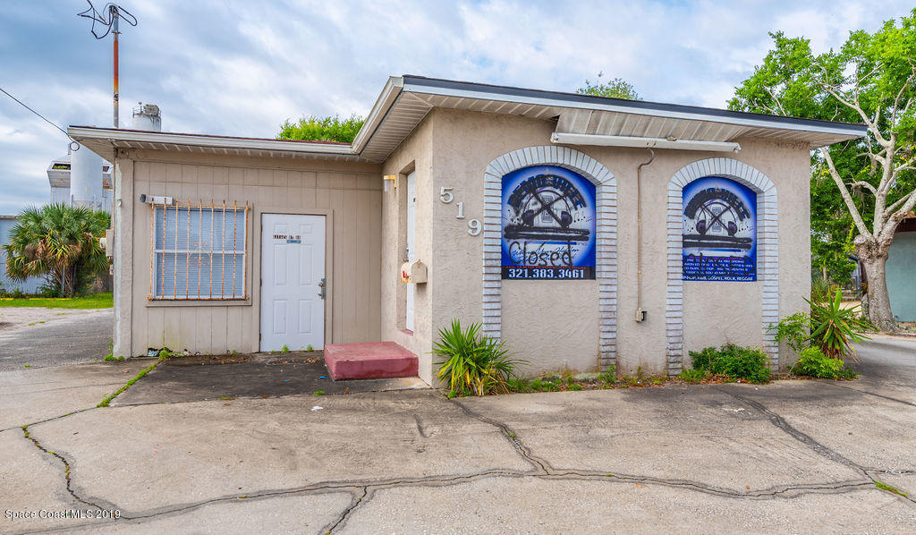Commercial for Sale at 519 Garden Street Titusville, Florida 32796 United States
