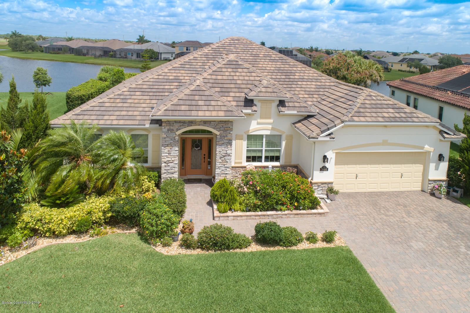 Single Family Homes for Sale at 3464 Gatwick Manor Melbourne, Florida 32940 United States