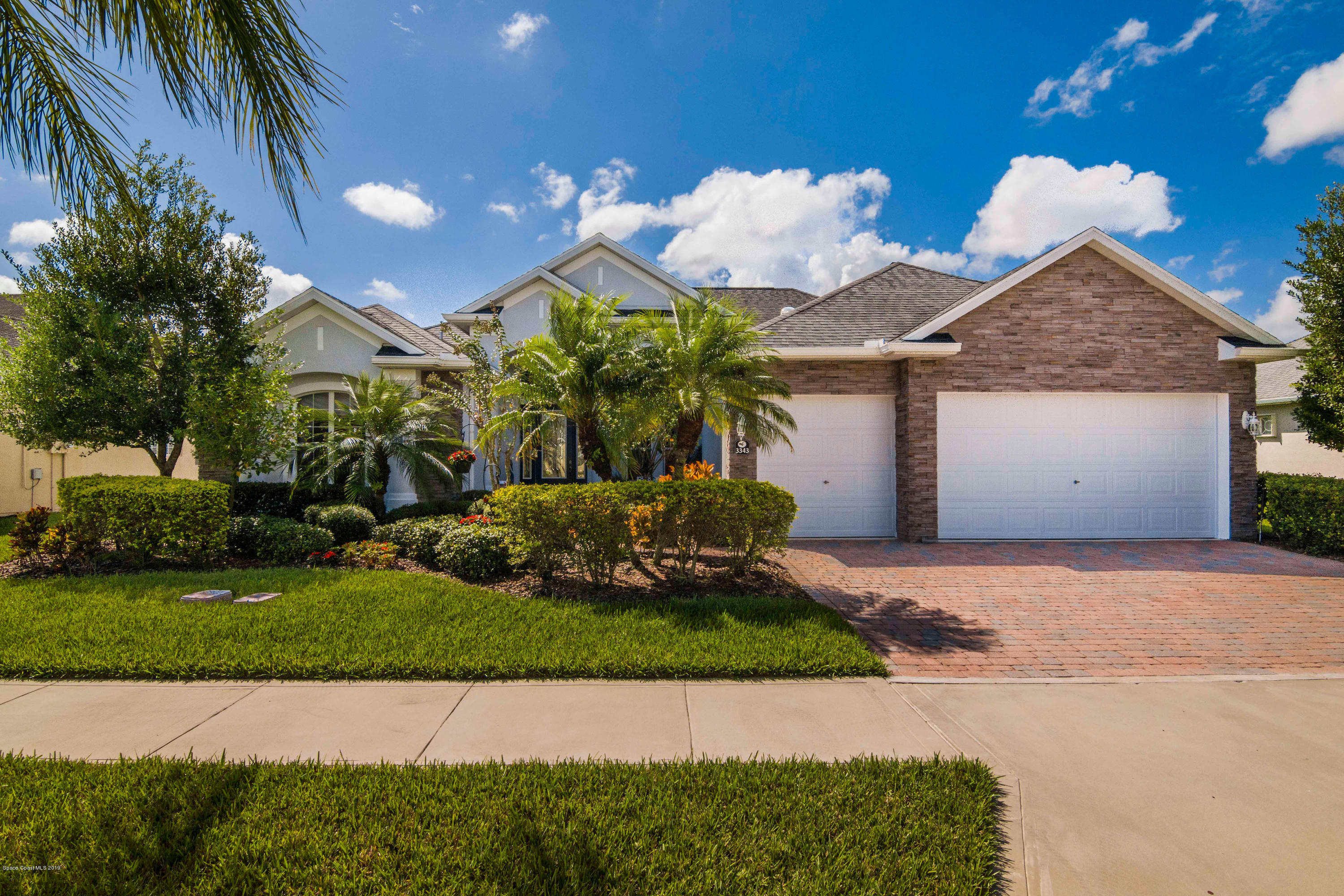 Single Family Homes for Sale at 3343 Carambola Melbourne, Florida 32940 United States