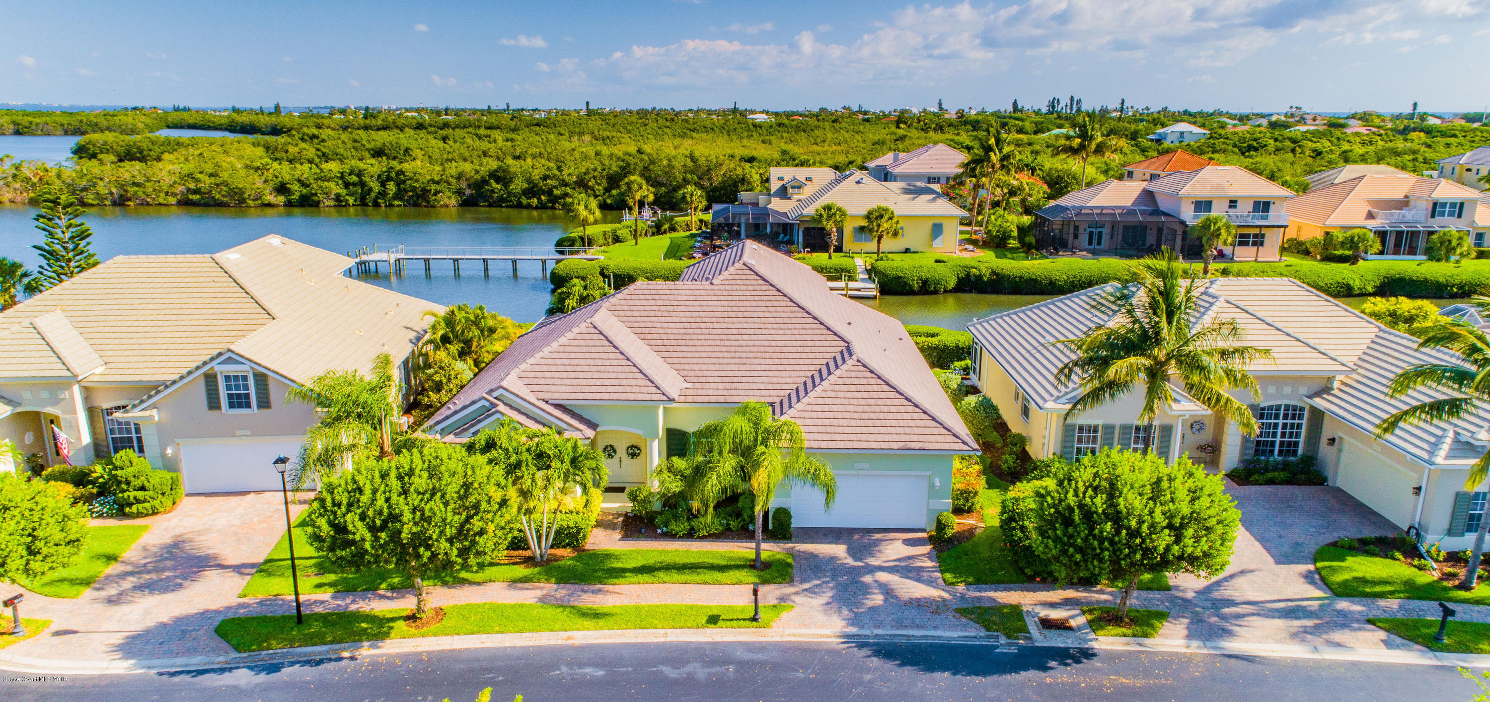Single Family Homes for Sale at 5237 Solway Melbourne Beach, Florida 32951 United States