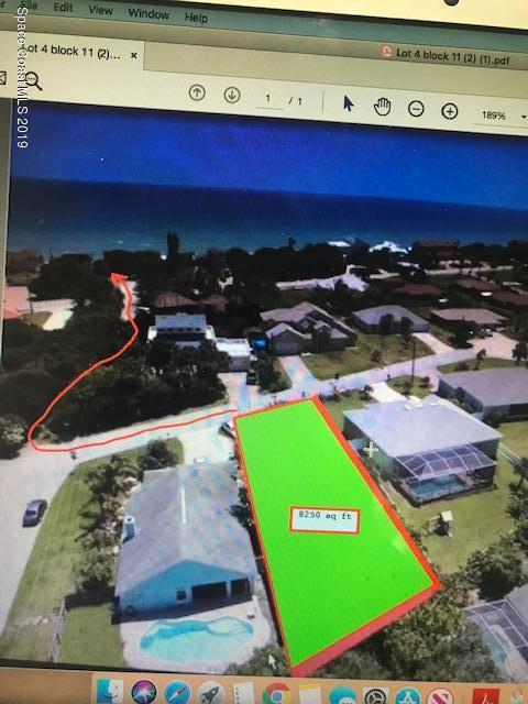 Land for Sale at Palm Melbourne Beach, Florida 32951 United States