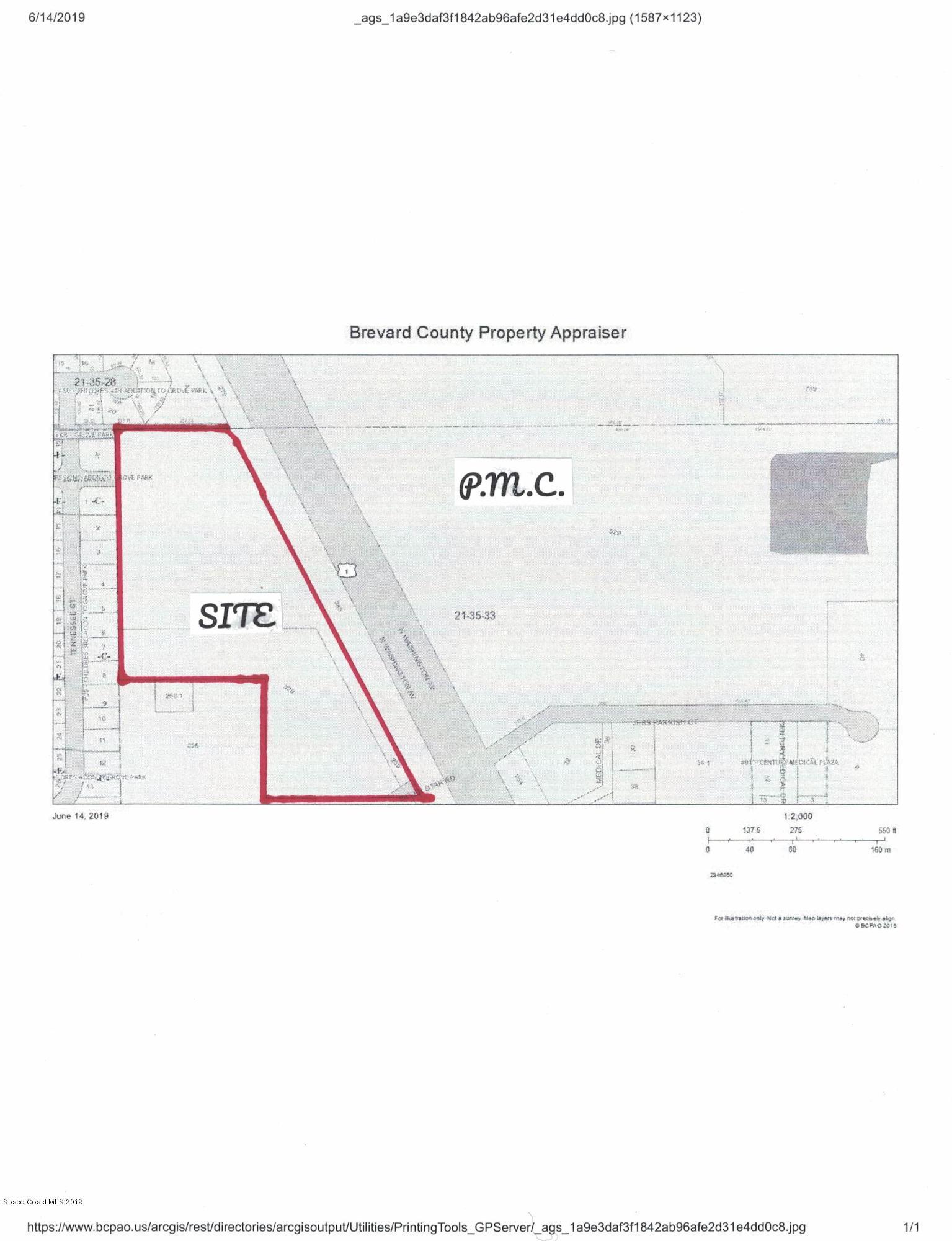 Land for Sale at N Washington Titusville, Florida 32796 United States
