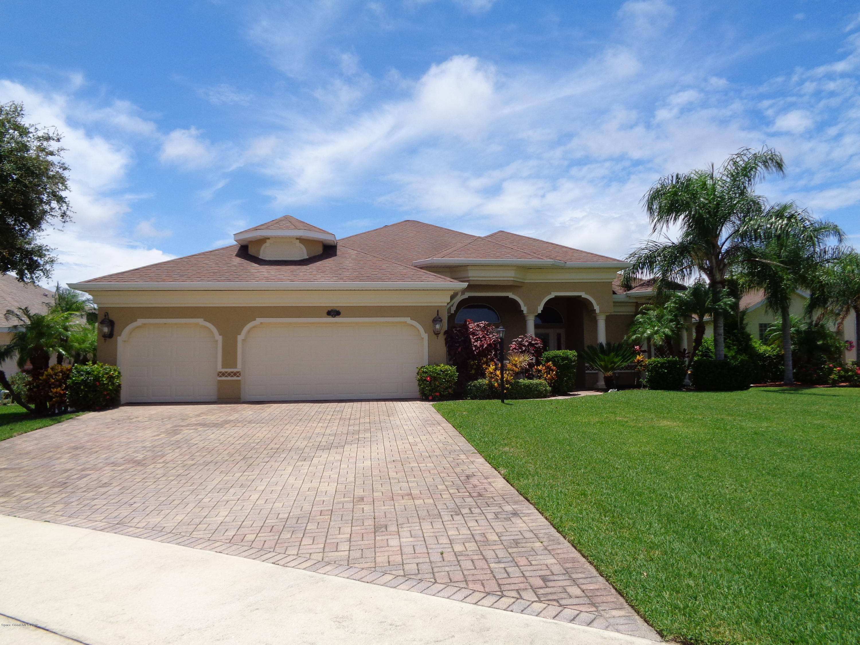 Single Family Homes for Sale at 1418 Tipperary Melbourne, Florida 32940 United States