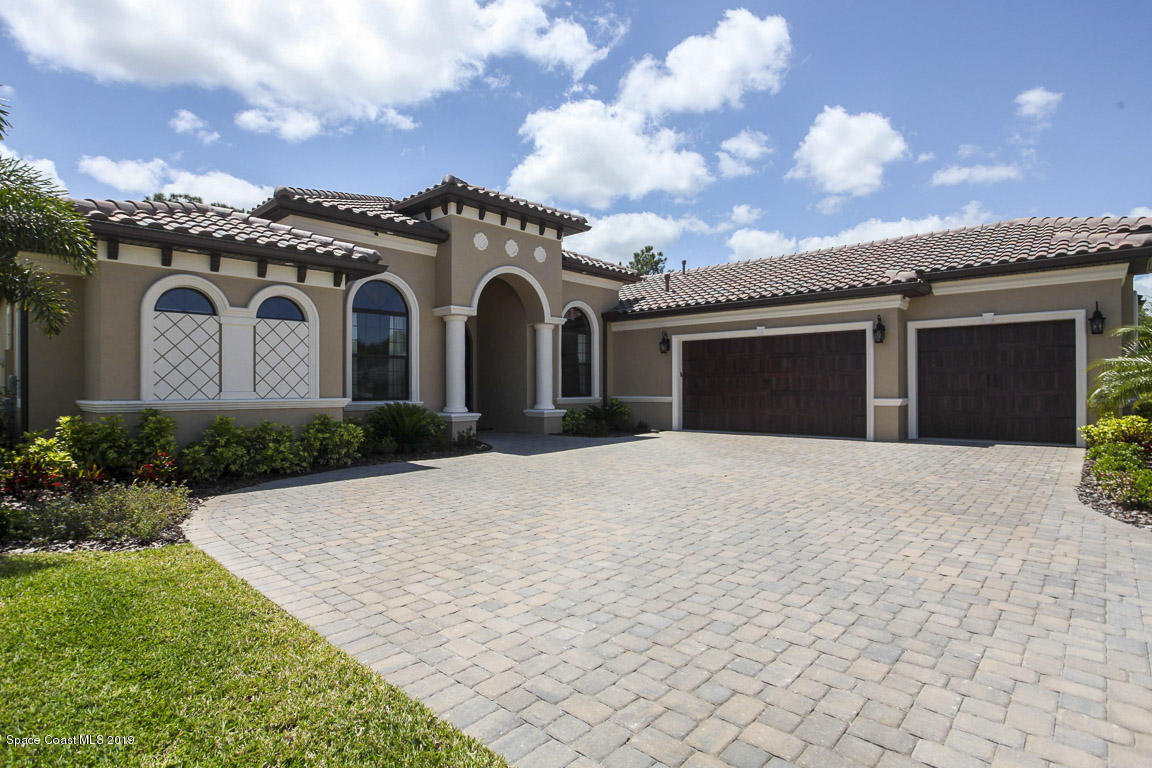 Single Family Homes for Sale at 4025 Domain Melbourne, Florida 32934 United States