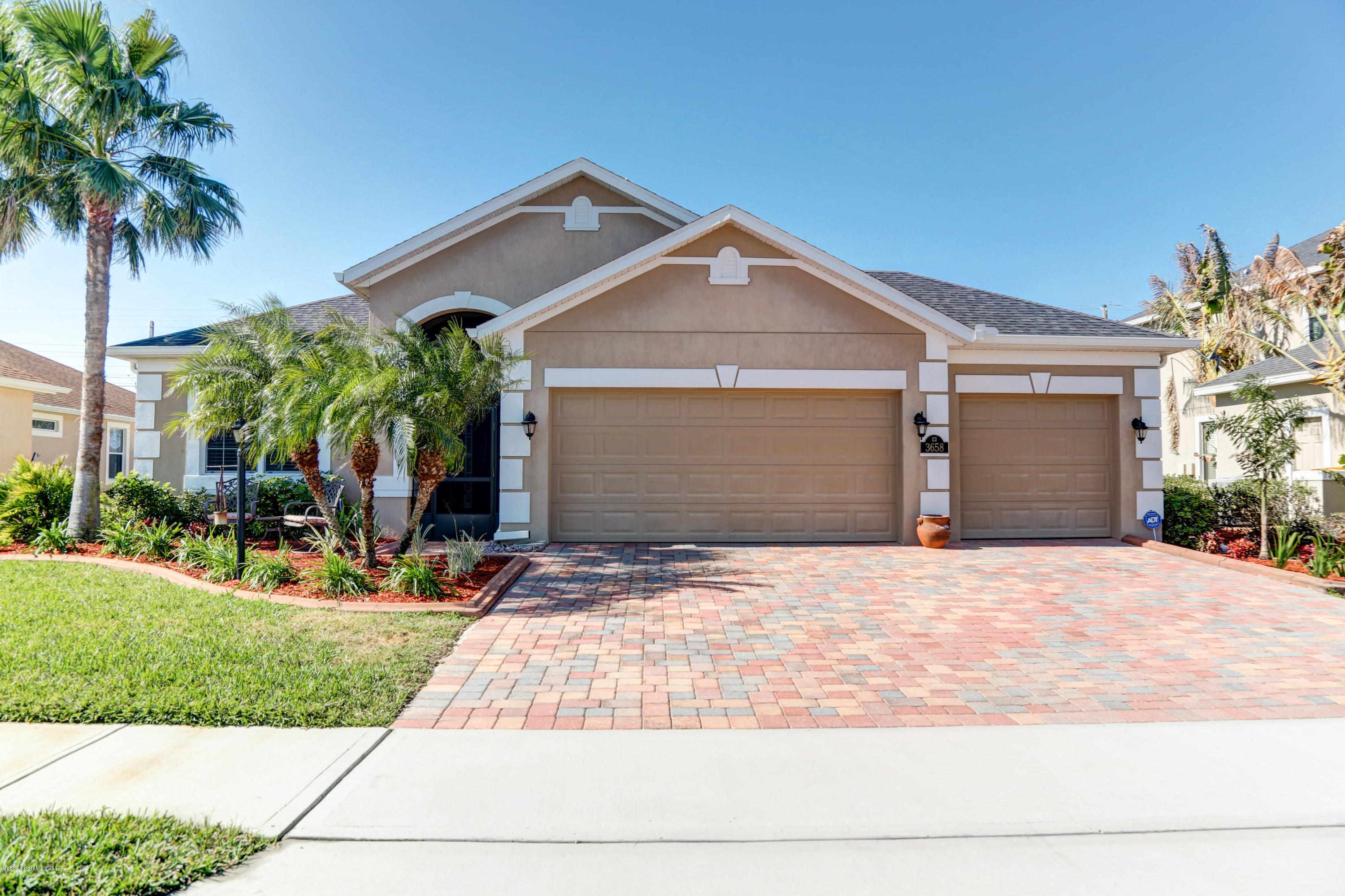 Single Family Homes for Sale at 3658 Hollisten Melbourne, Florida 32940 United States