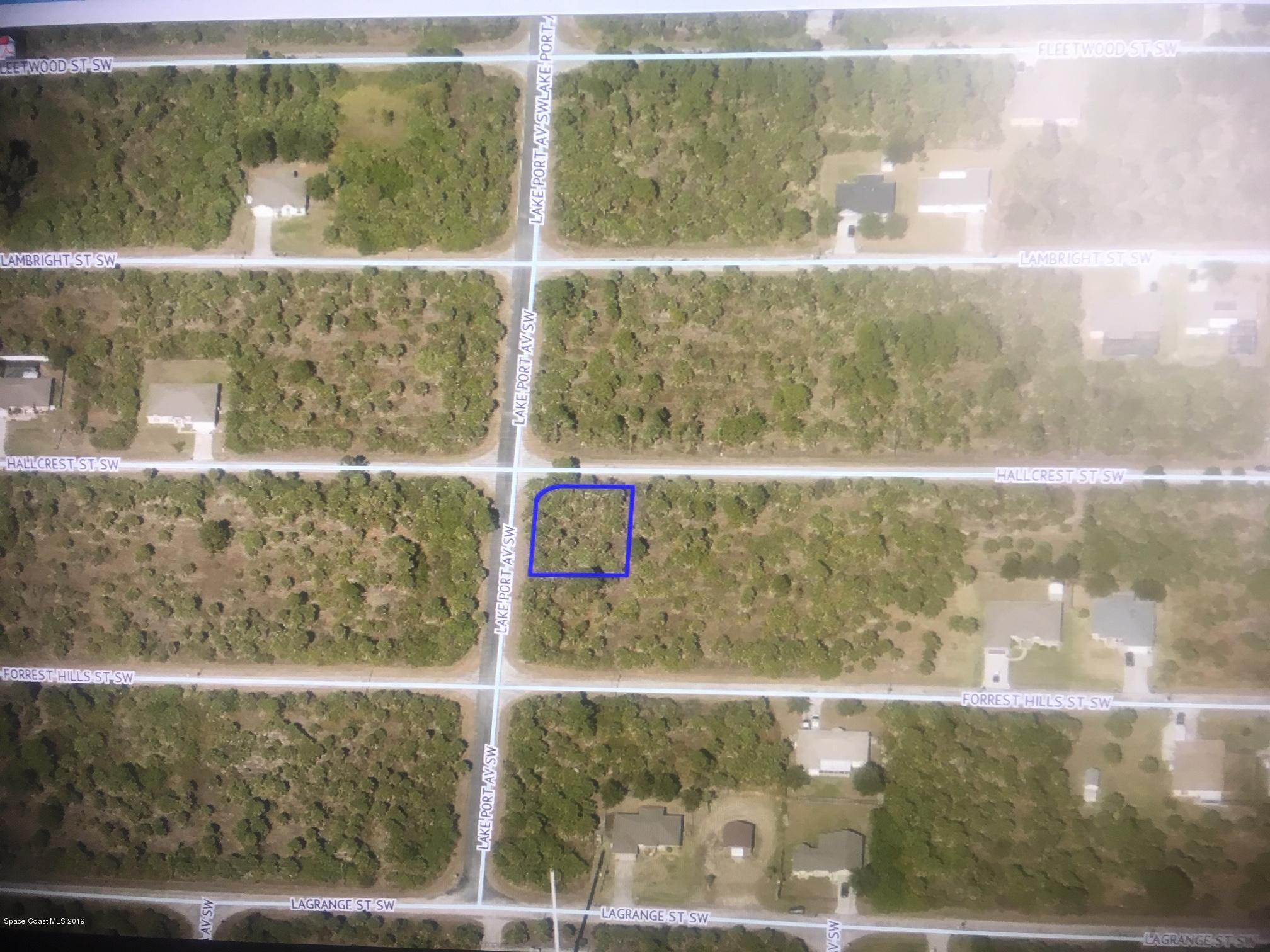 Land for Sale at Cnr. Lakeport And Hallcrest Palm Bay, Florida 32908 United States