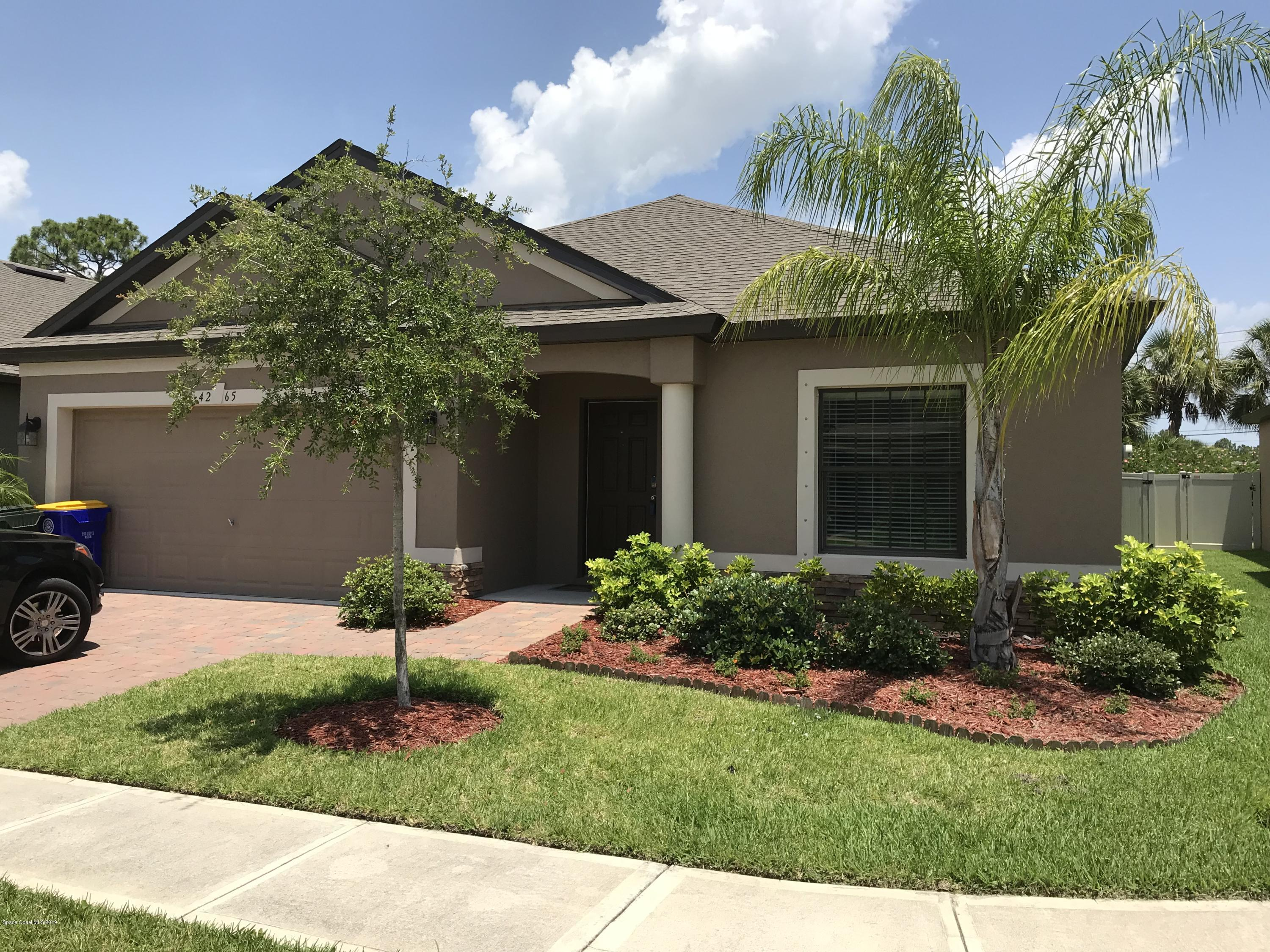 Single Family Homes for Rent at 4265 Harvest Rockledge, Florida 32955 United States