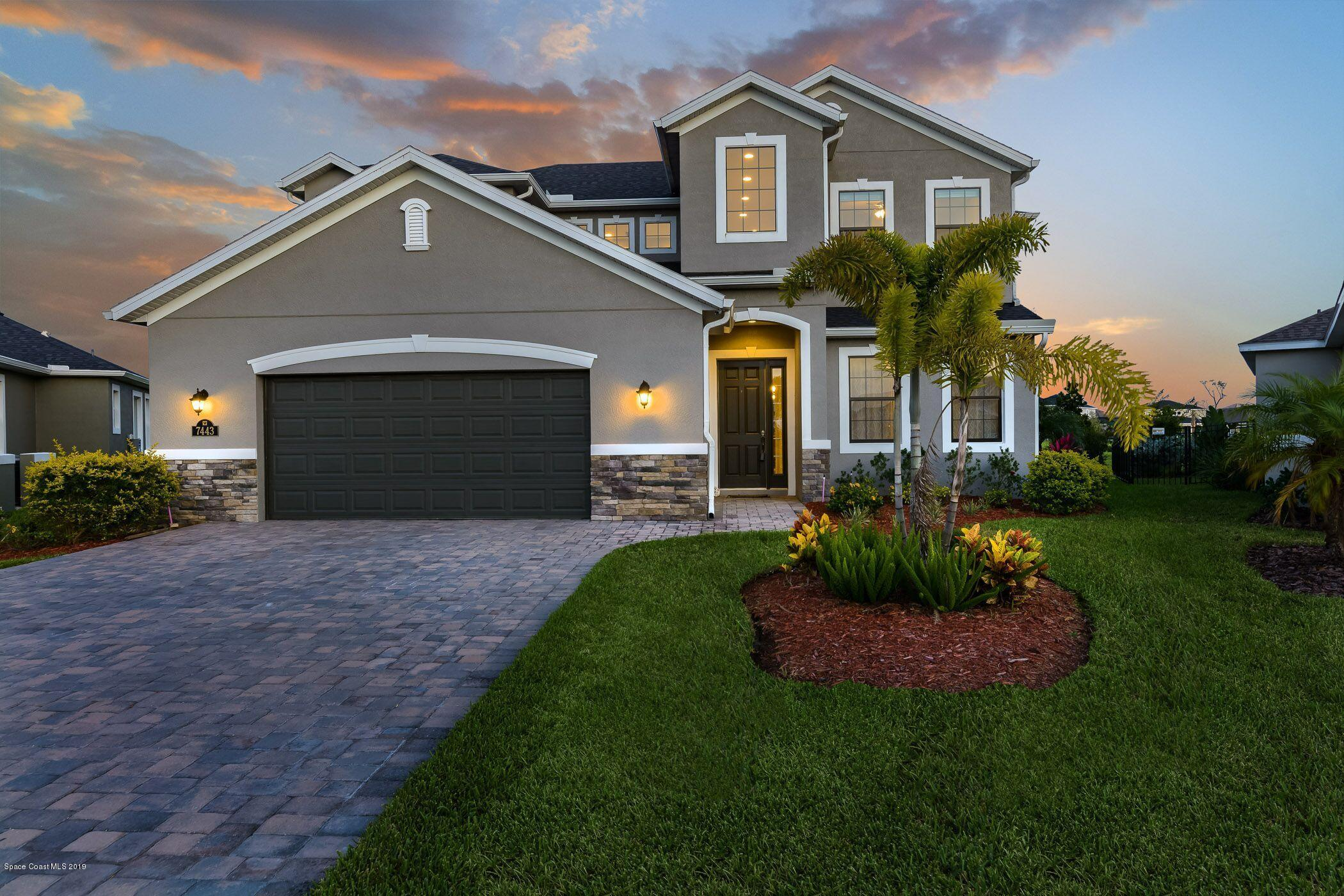 Single Family Homes for Sale at 7443 Drevo Melbourne, Florida 32940 United States