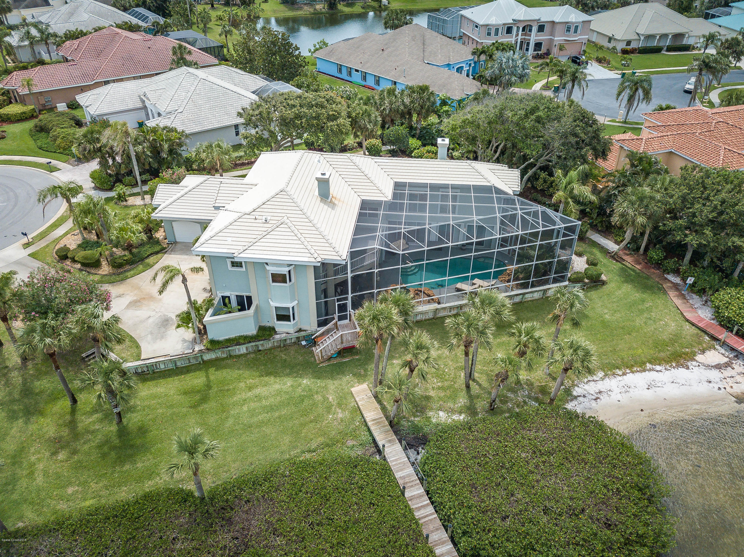 Single Family Homes for Sale at 237 Loggerhead Melbourne Beach, Florida 32951 United States