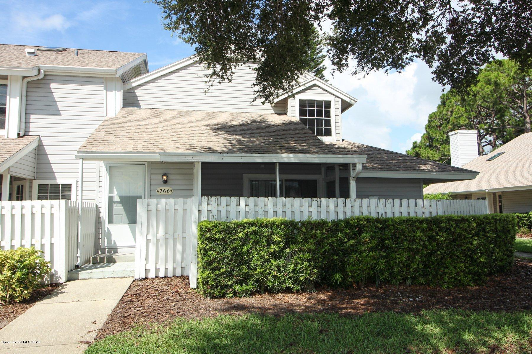 Single Family Homes for Sale at 766 Players Melbourne, Florida 32940 United States