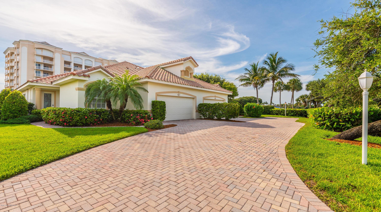 Single Family Homes for Sale at 879 Aquarina Melbourne Beach, Florida 32951 United States