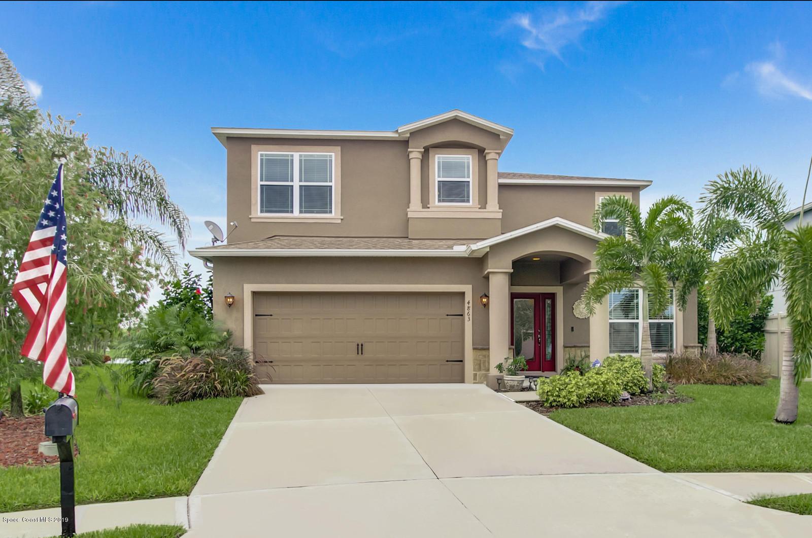 Single Family Homes for Sale at 4863 Borealis Melbourne, Florida 32940 United States