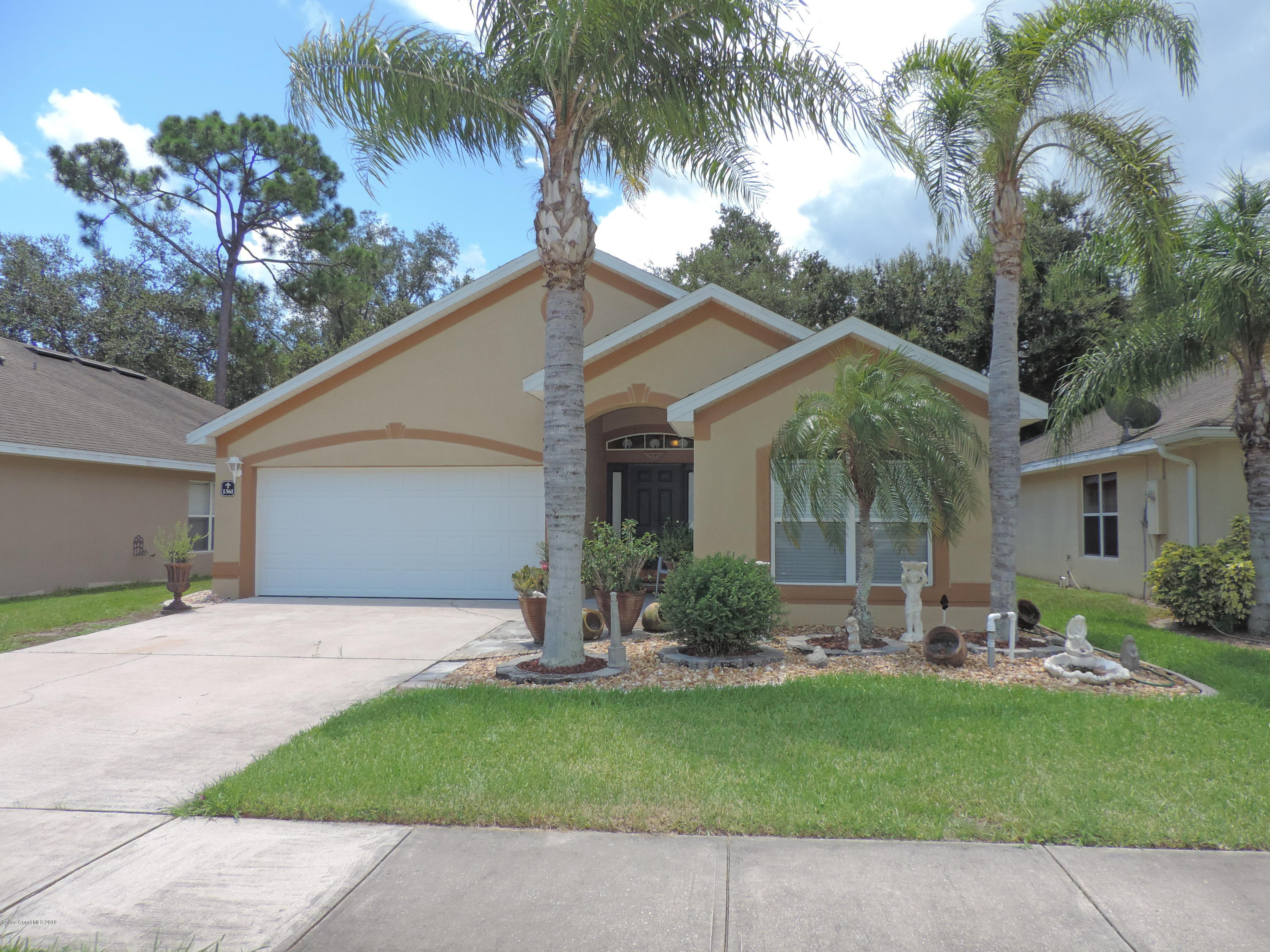 Single Family Homes for Sale at 1361 Morgan Melbourne, Florida 32934 United States