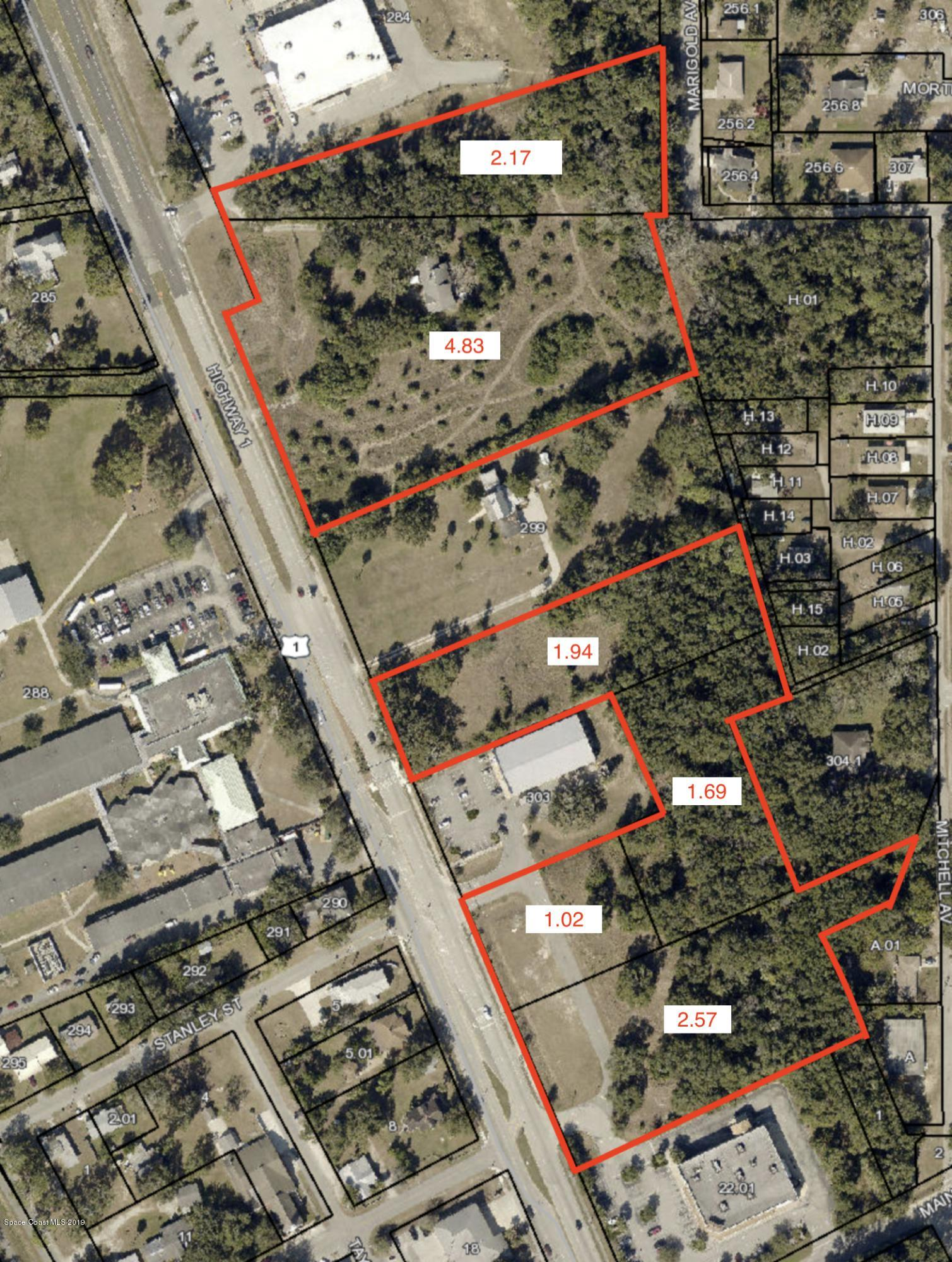 Land for Sale at 14.22ac Highway 1 Mims, Florida 32754 United States