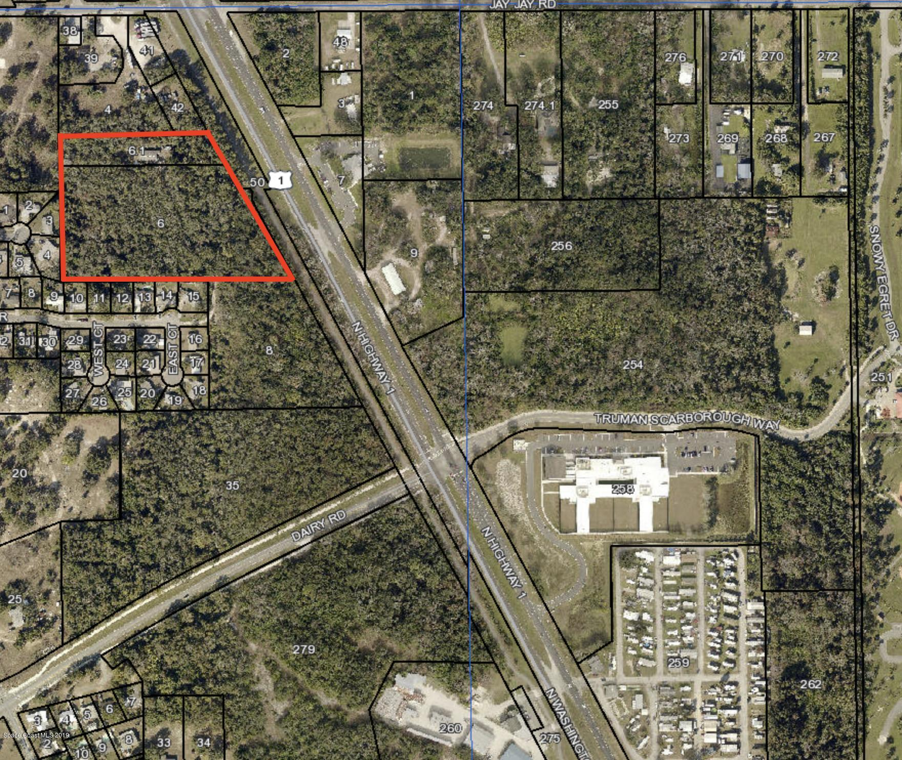 Land for Sale at 7.26 ac Highway 1 Titusville, Florida 32796 United States