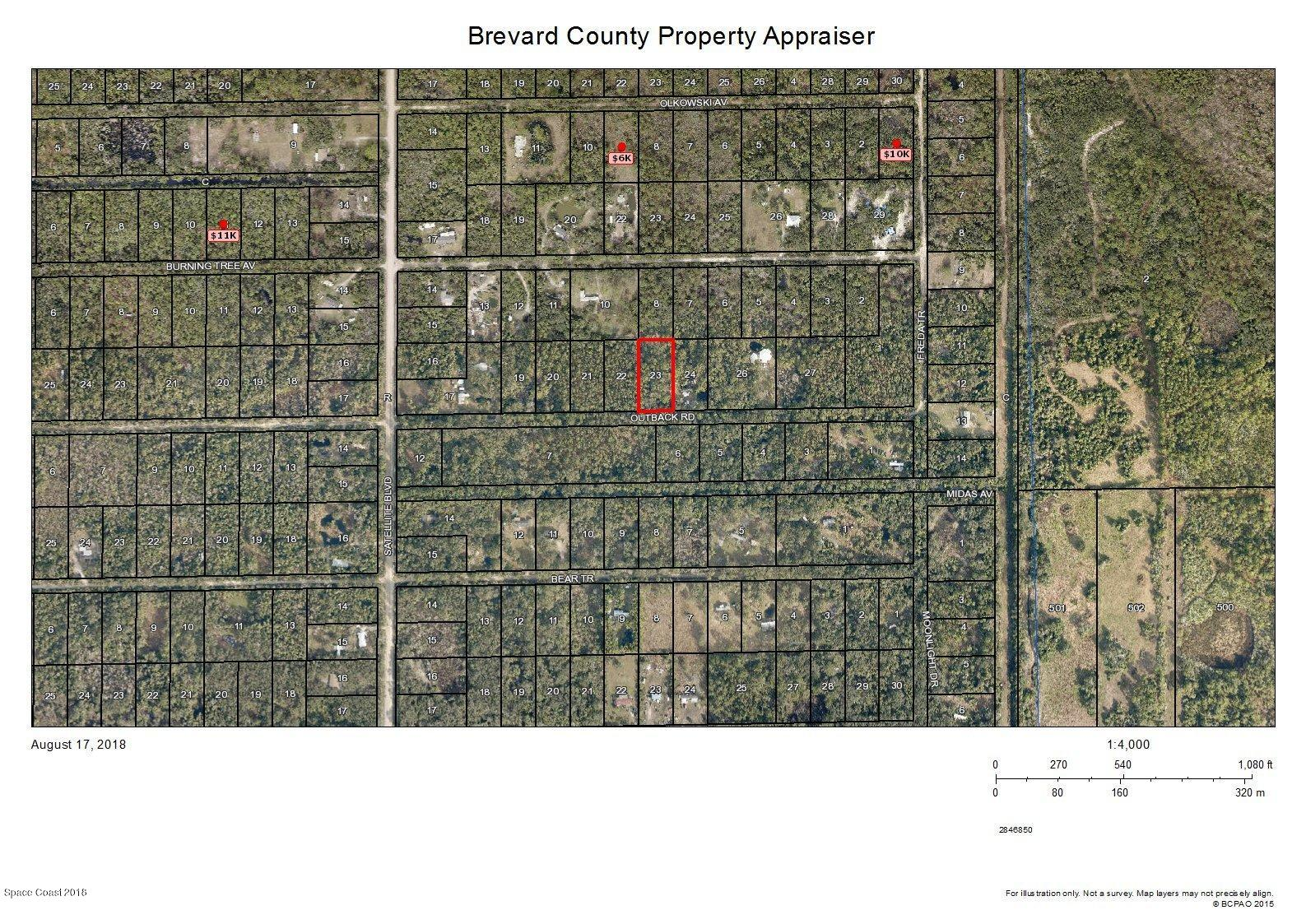 Land for Sale at Outback Cocoa, Florida 32926 United States