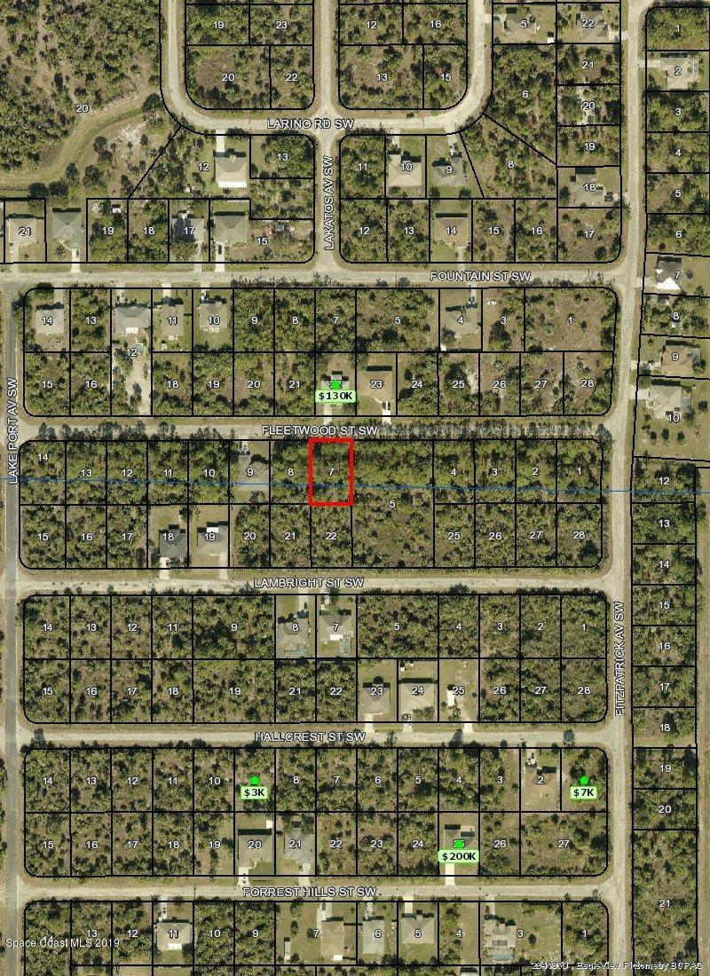 Land for Sale at 442 Fleetwood Palm Bay, Florida 32908 United States