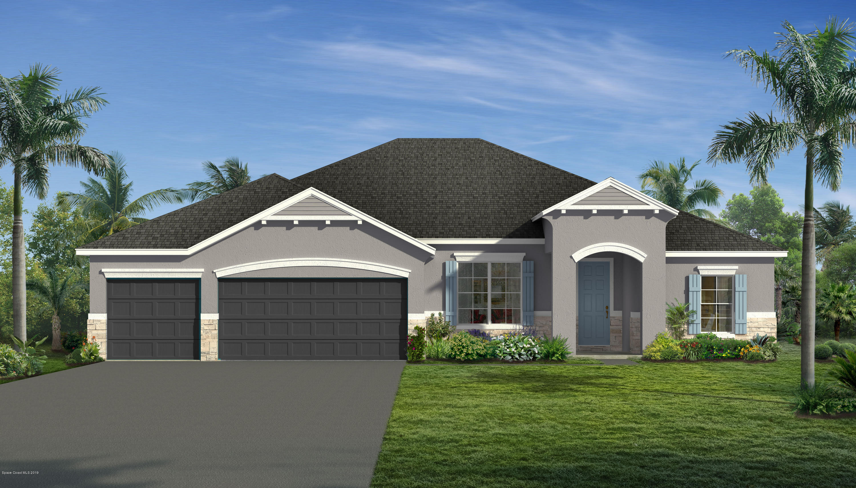Single Family Homes for Sale at 717 Dove Landing Palm Bay, Florida 32905 United States