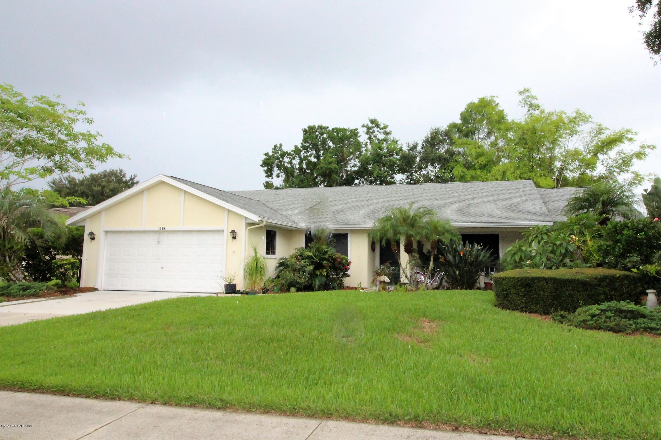 Single Family Homes for Sale at 1118 Continental Melbourne, Florida 32940 United States