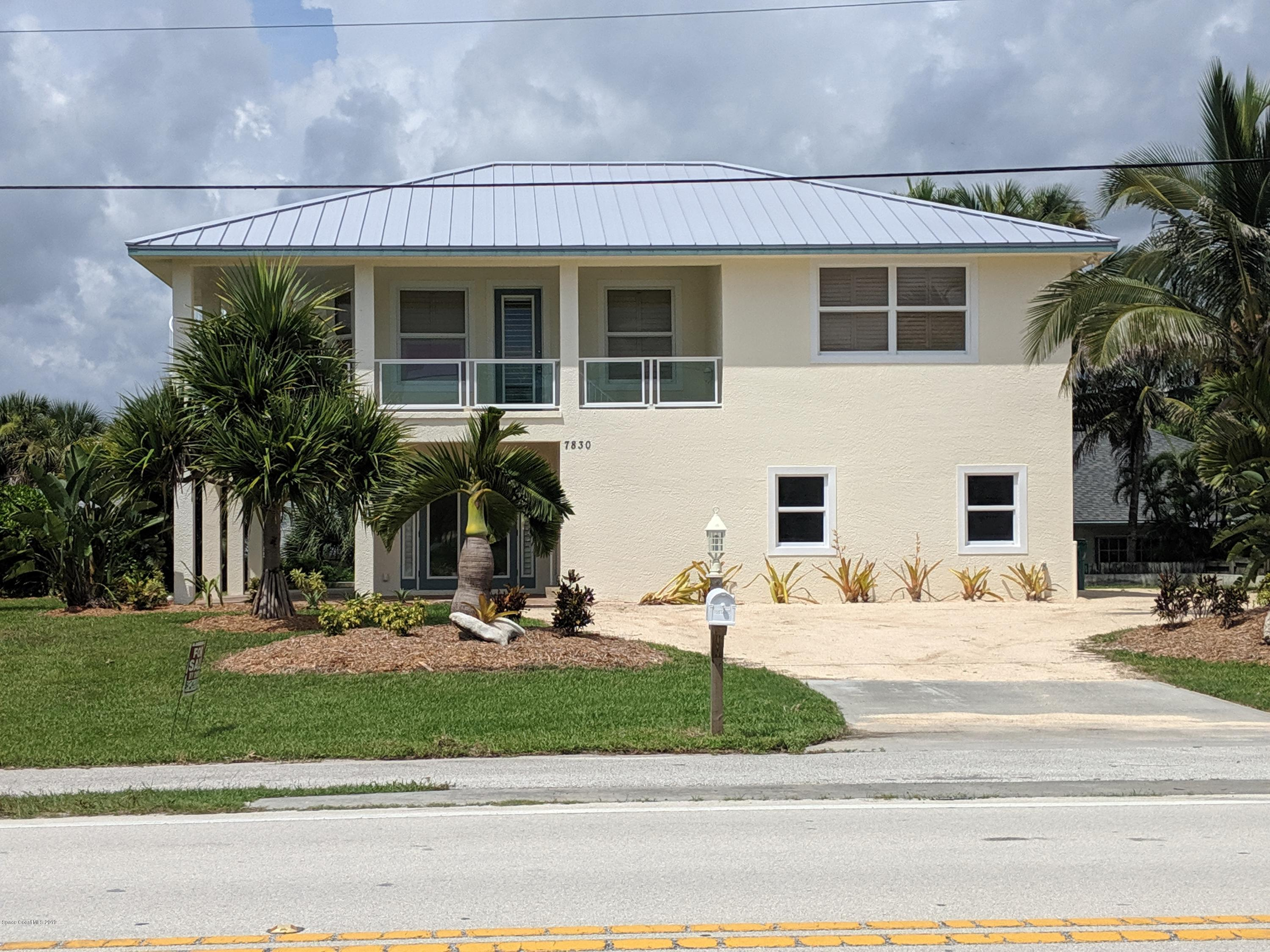 Single Family Homes for Sale at 7830 S Highway A1a Melbourne Beach, Florida 32951 United States