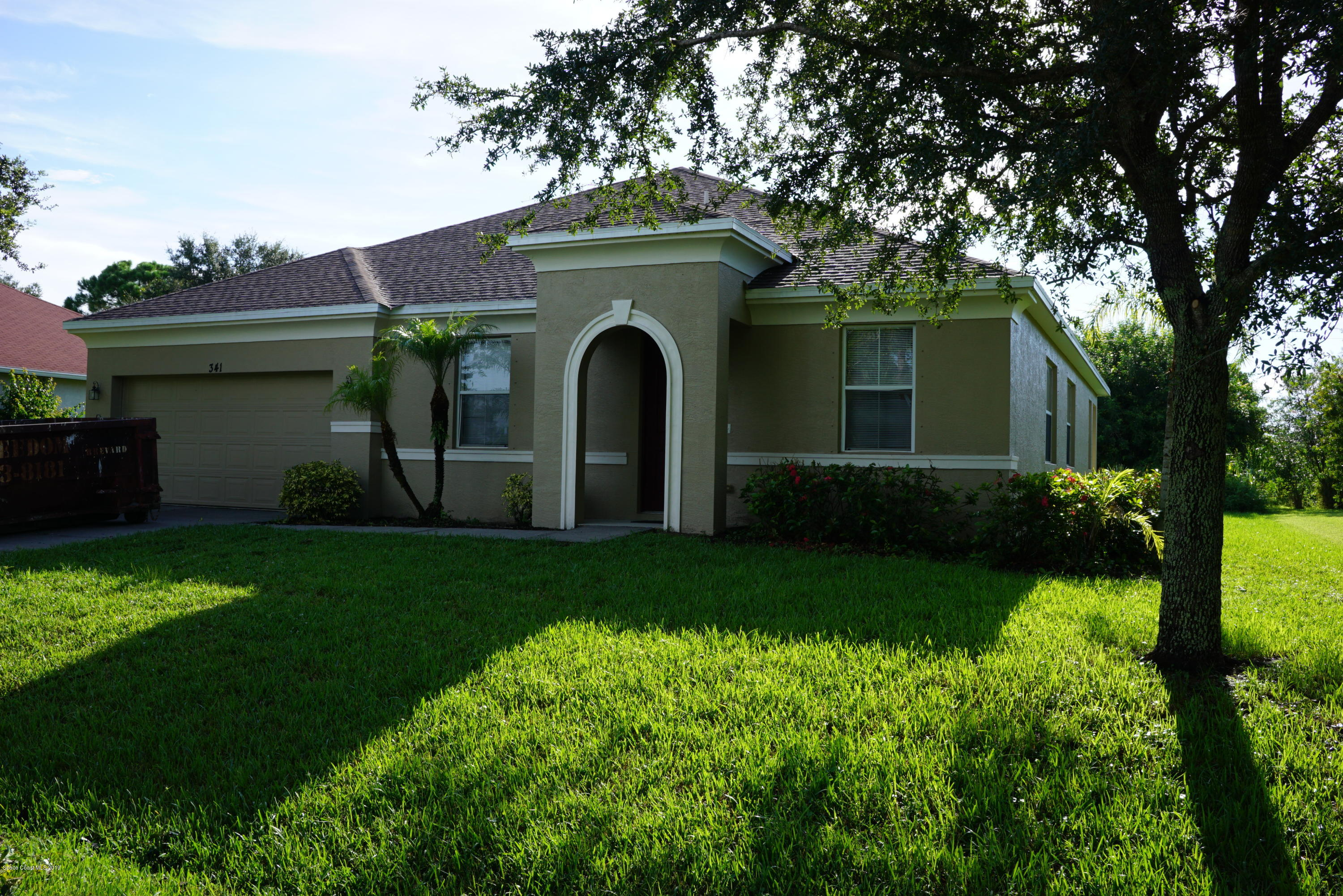 Single Family Homes for Rent at 341 Altman Palm Bay, Florida 32909 United States