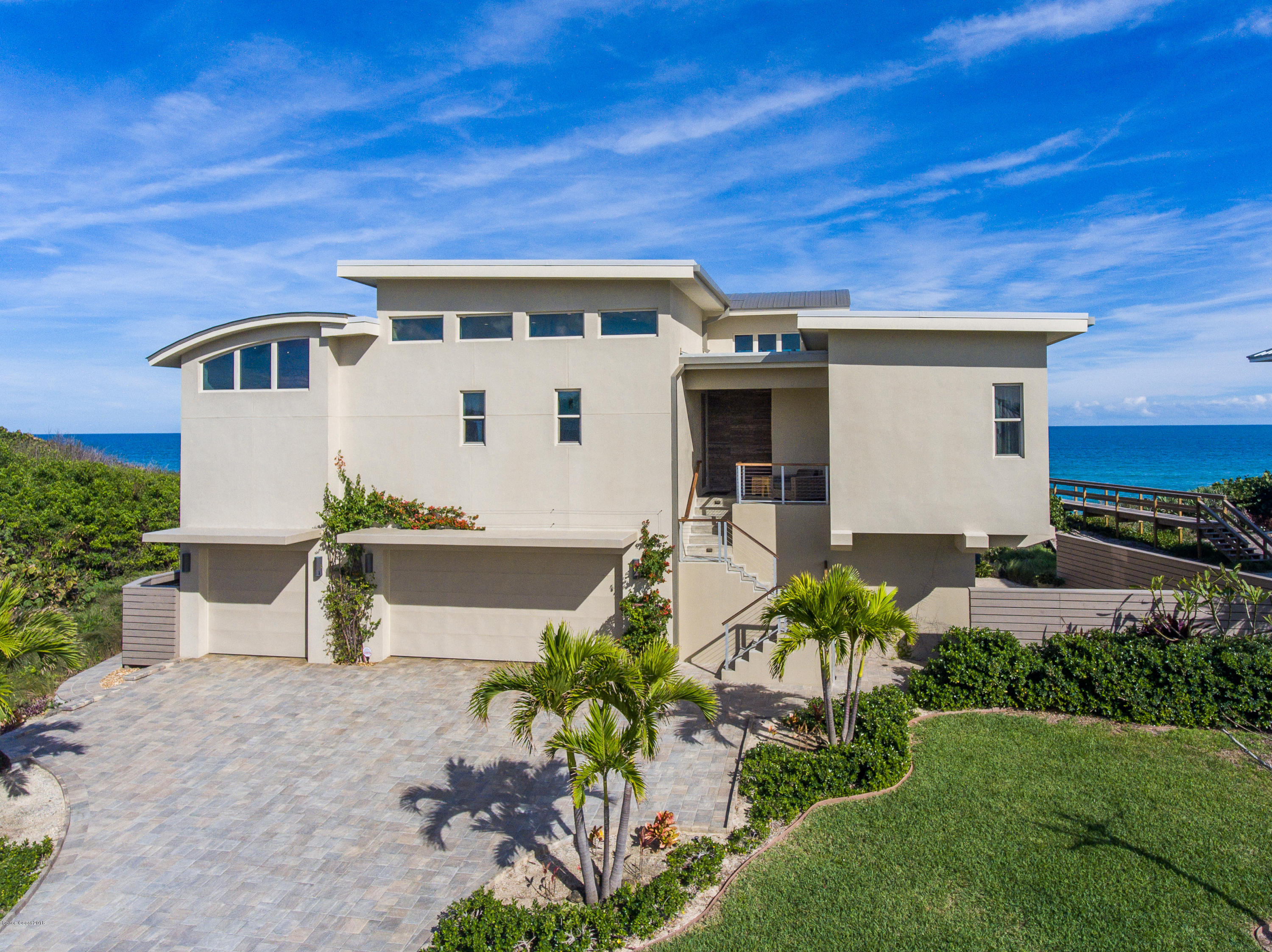 Single Family Homes for Sale at 7829 Highway A1a Melbourne Beach, Florida 32951 United States