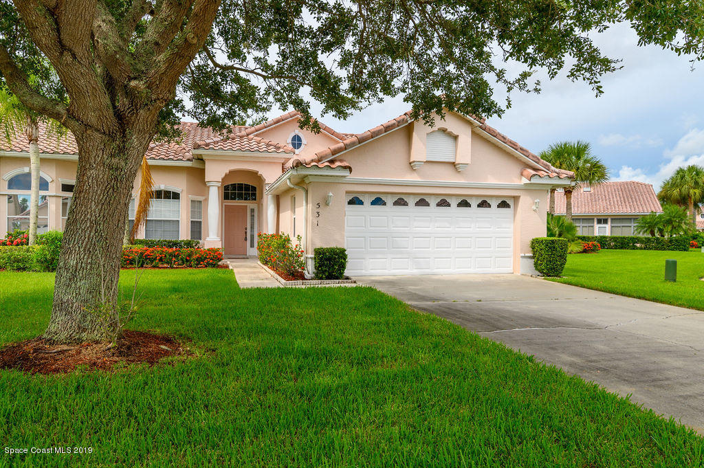 Single Family Homes for Sale at 531 Shell Cove Melbourne, Florida 32940 United States