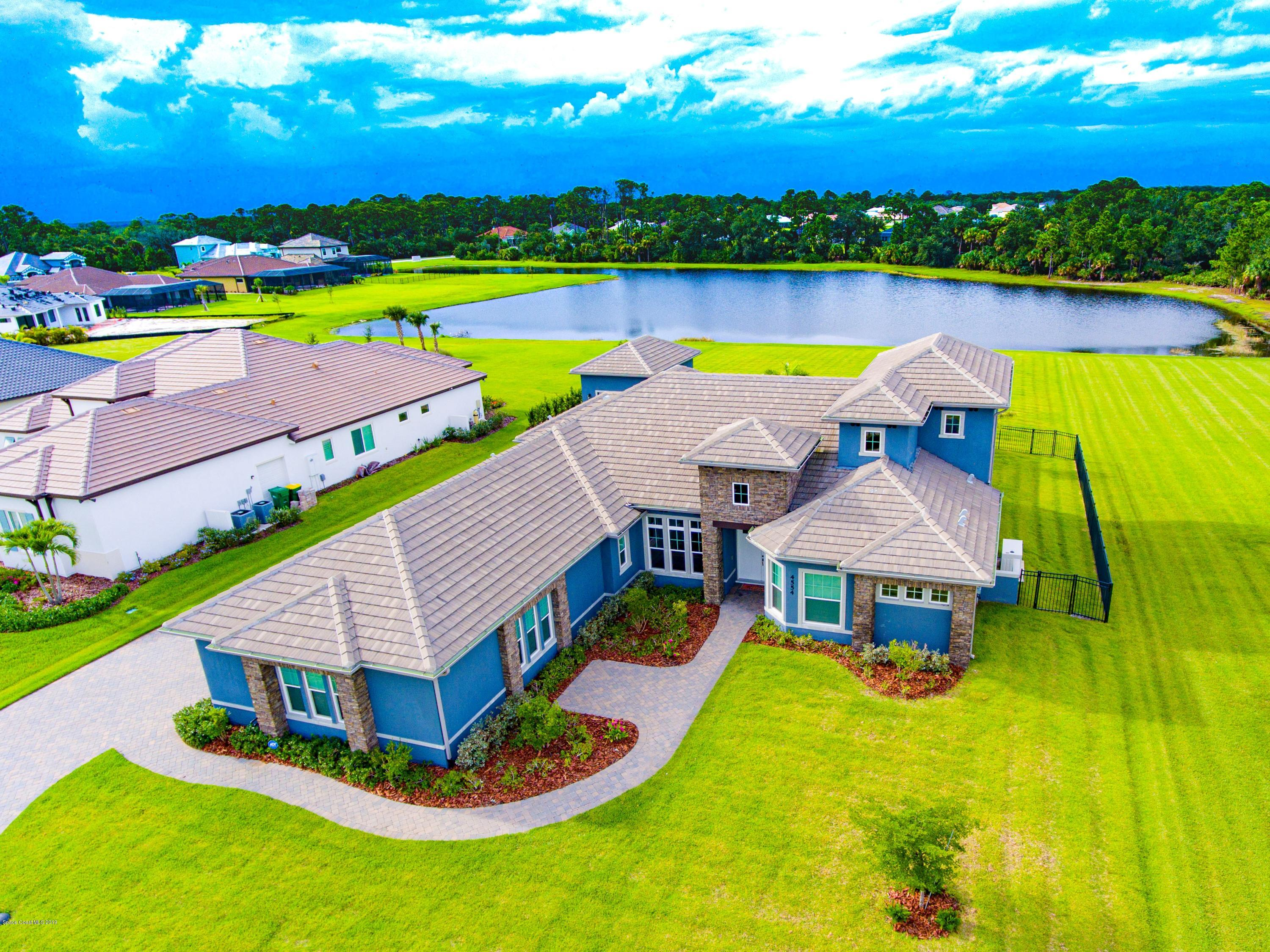 Single Family Homes for Sale at 4554 Preservation Melbourne, Florida 32934 United States