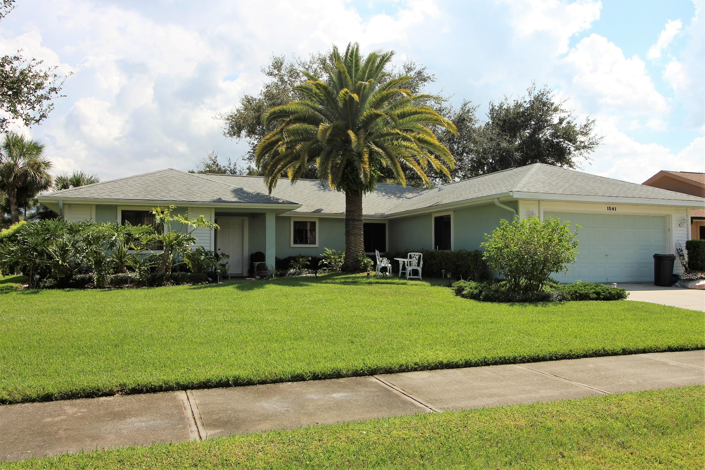 Single Family Homes for Sale at 1541 Pioneer Melbourne, Florida 32940 United States