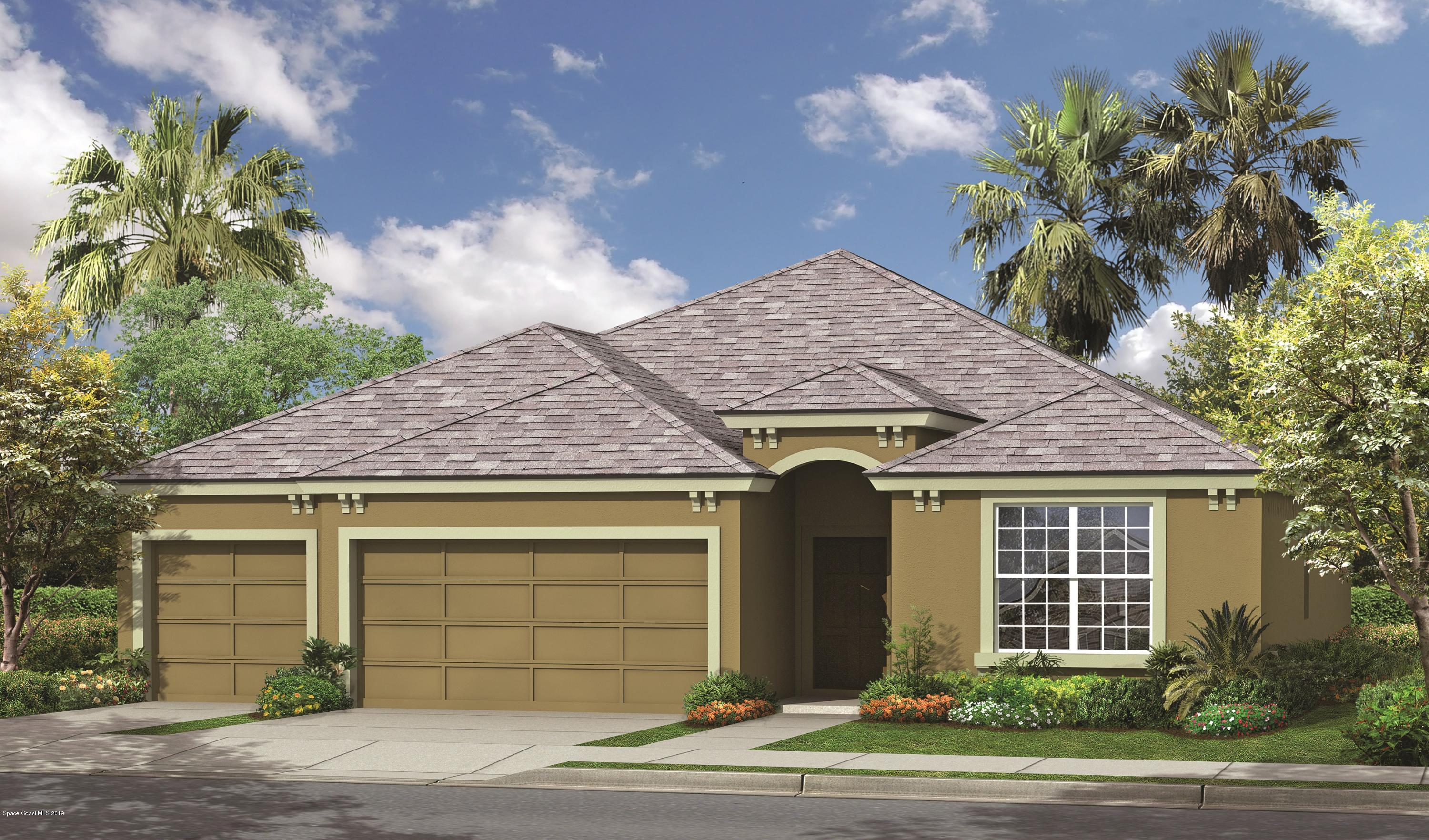 Single Family Homes for Sale at 628 Stonebriar Palm Bay, Florida 32909 United States
