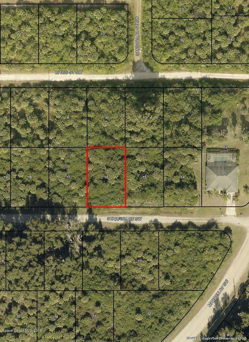 Land for Sale at 831 Starfish Palm Bay, Florida 32908 United States