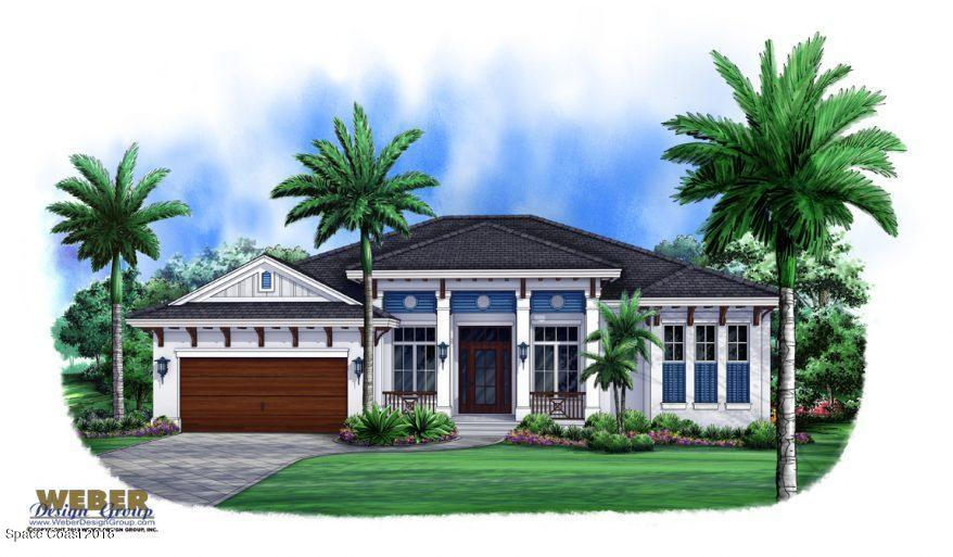 Single Family Homes for Sale at 410 Hammock Shore Melbourne Beach, Florida 32951 United States