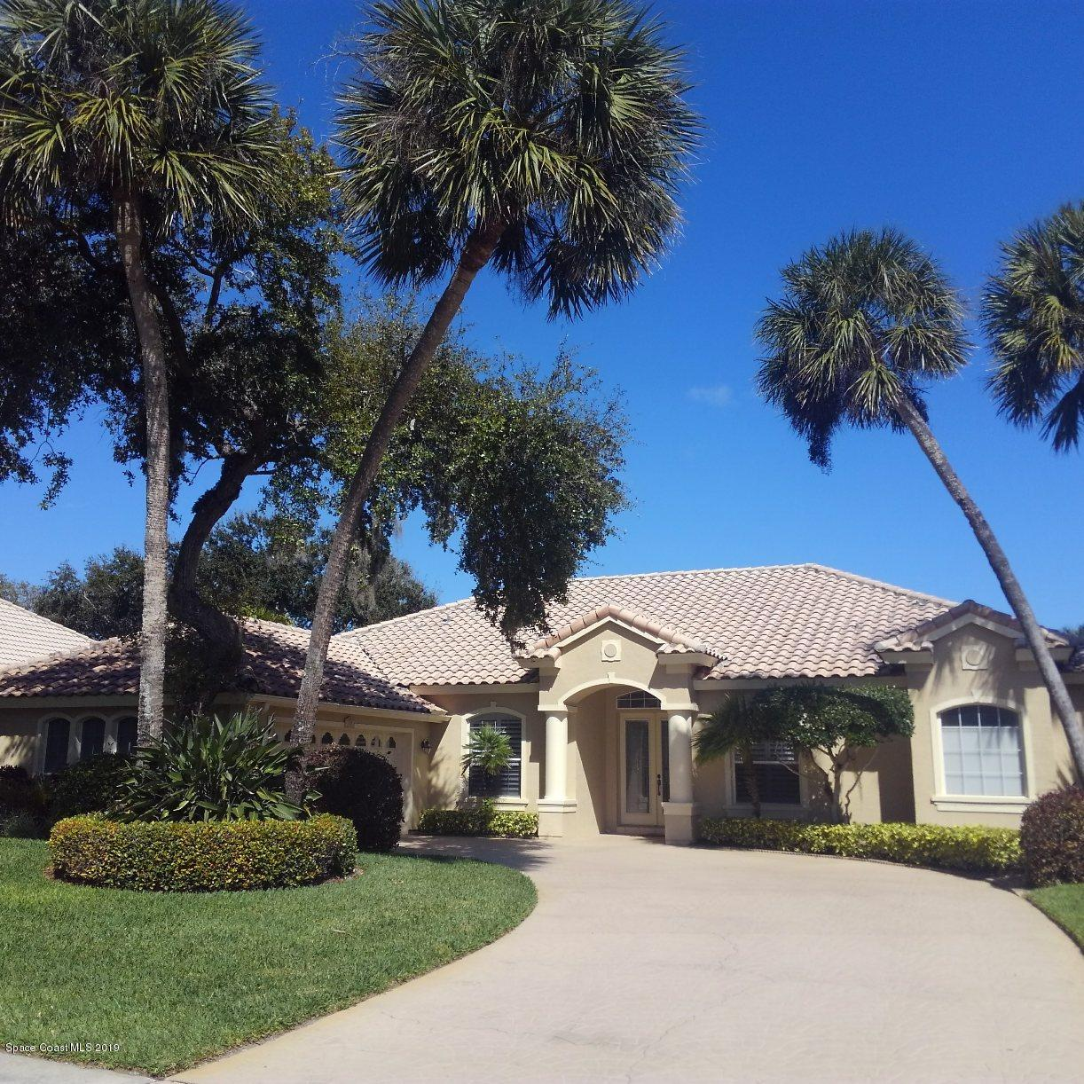 Single Family Homes for Rent at 355 Hammock Shore Melbourne Beach, Florida 32951 United States
