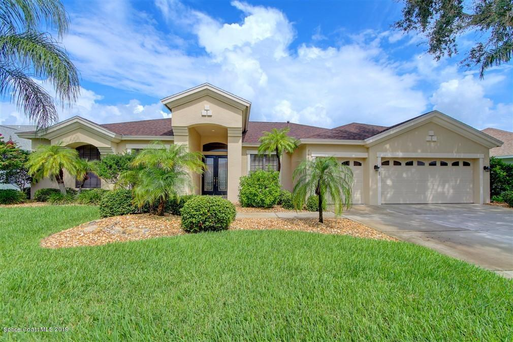 Single Family Homes for Sale at 7986 Bradwick Melbourne, Florida 32940 United States